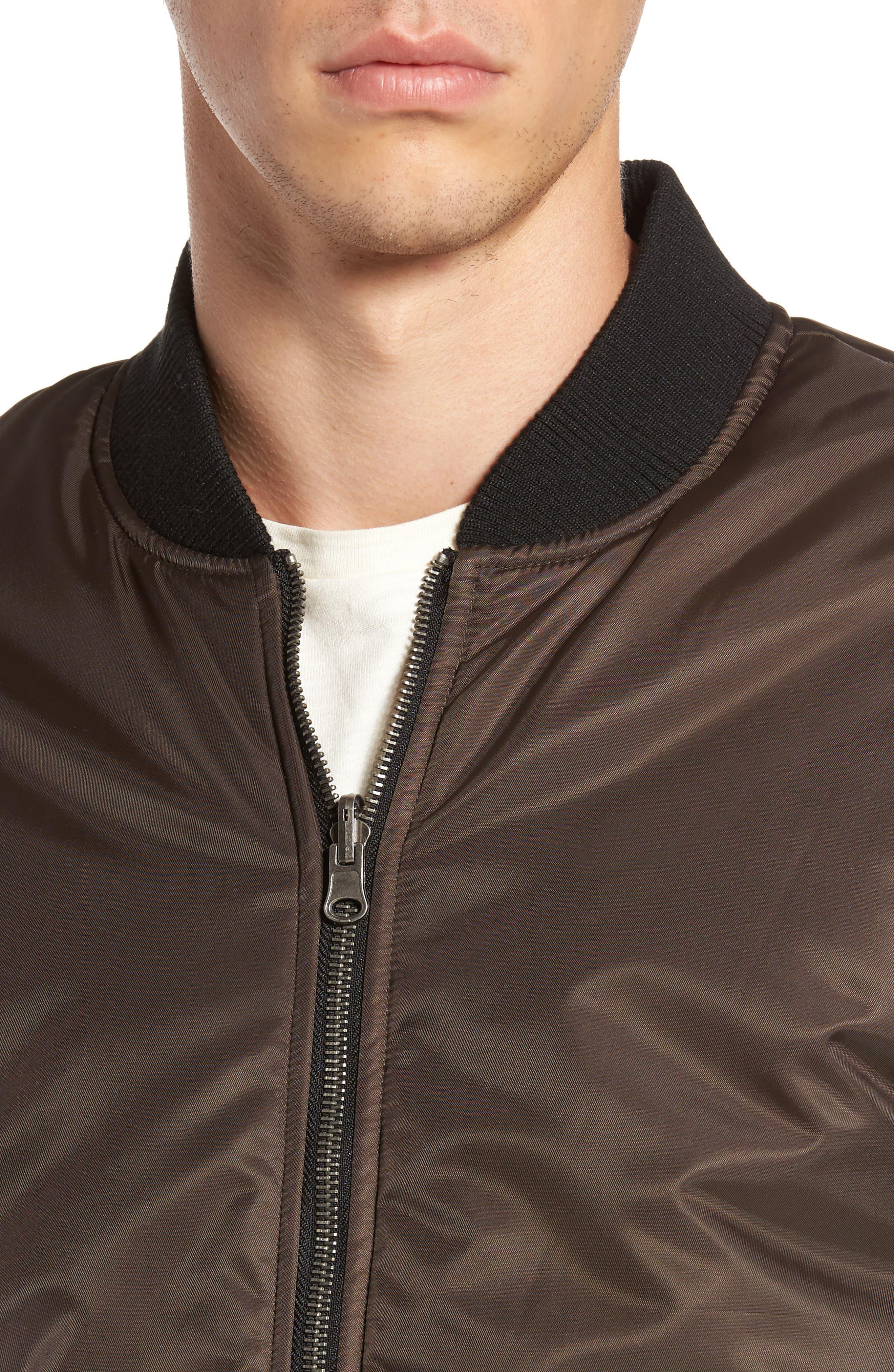 Alternate Image 4  - Lira Clothing Kevion Reversible Bomber Jacket