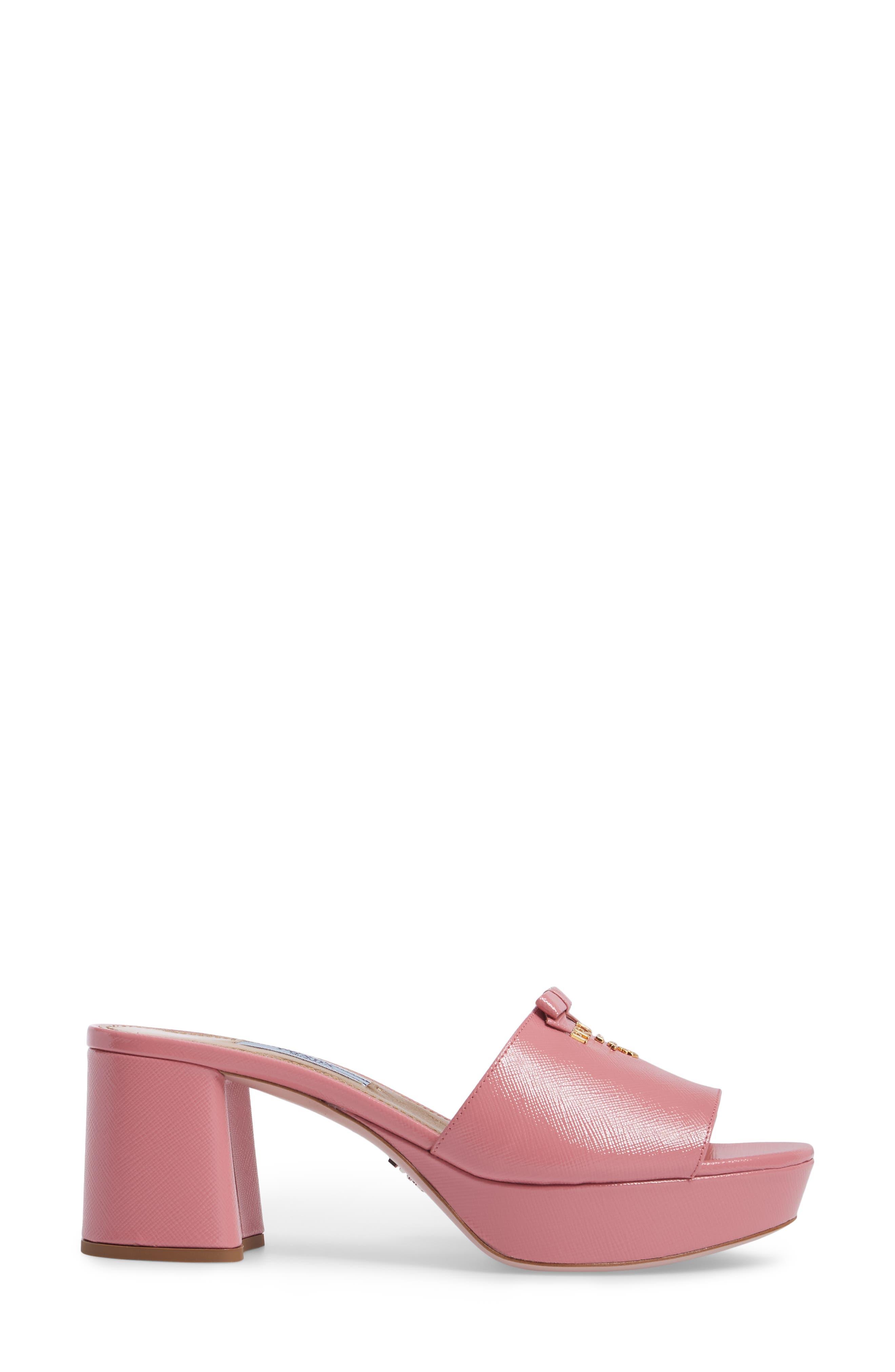 Alternate Image 3  - Prada Logo Block Heel Mule (Women)