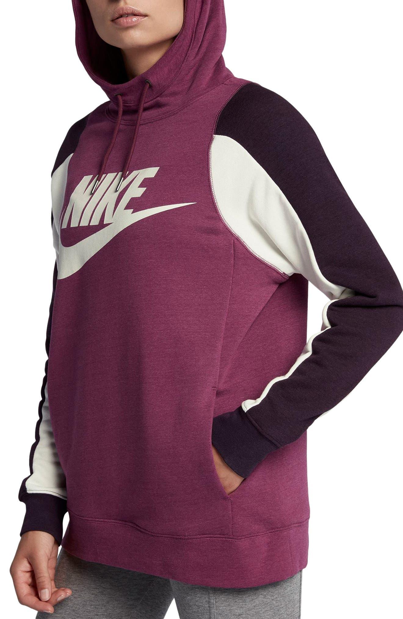 Alternate Image 3  - Nike Women's Modern Pullover Hoodie