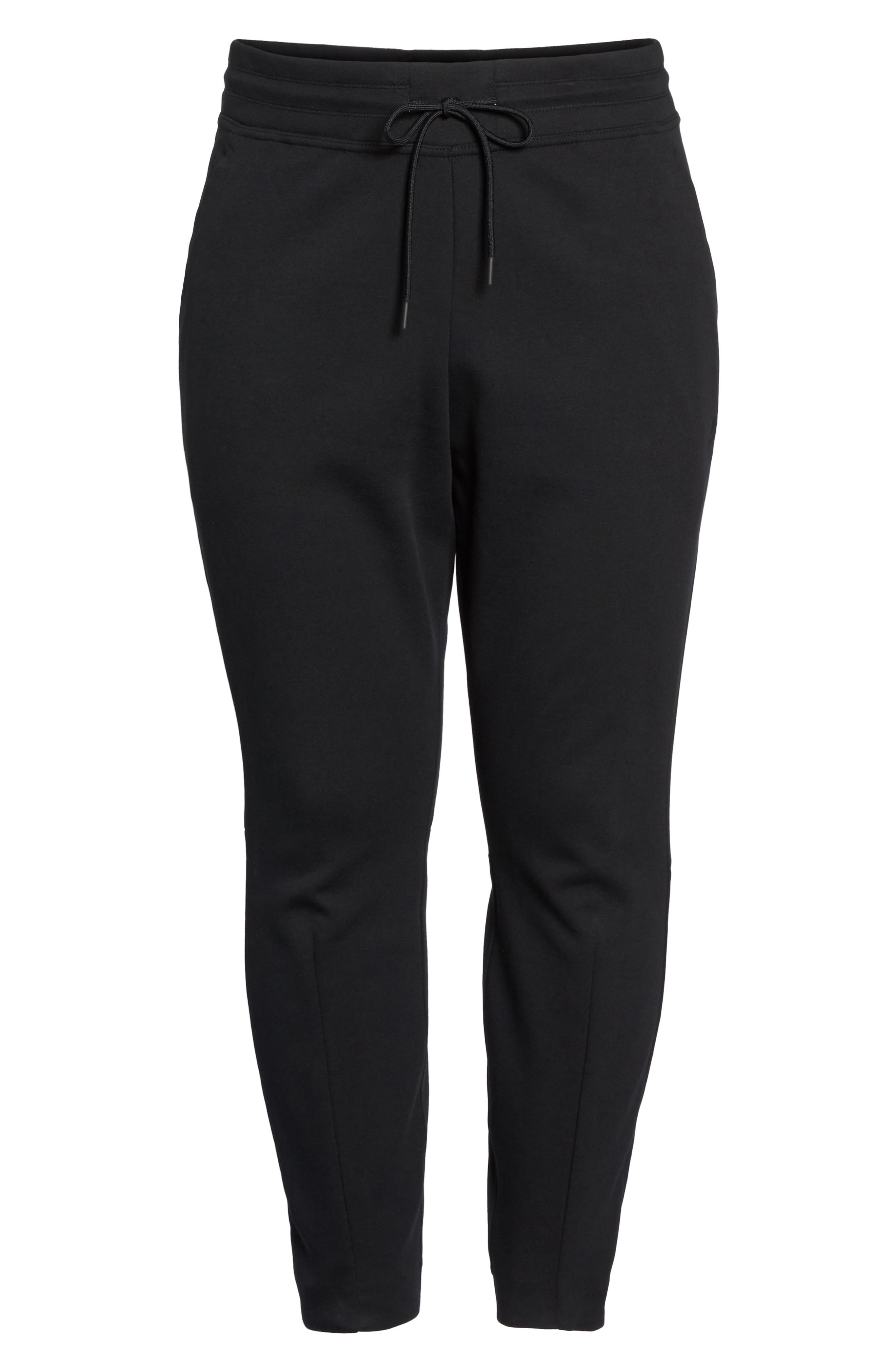 Tech Fleece Jogger Pants,                             Alternate thumbnail 6, color,                             Black/ Black