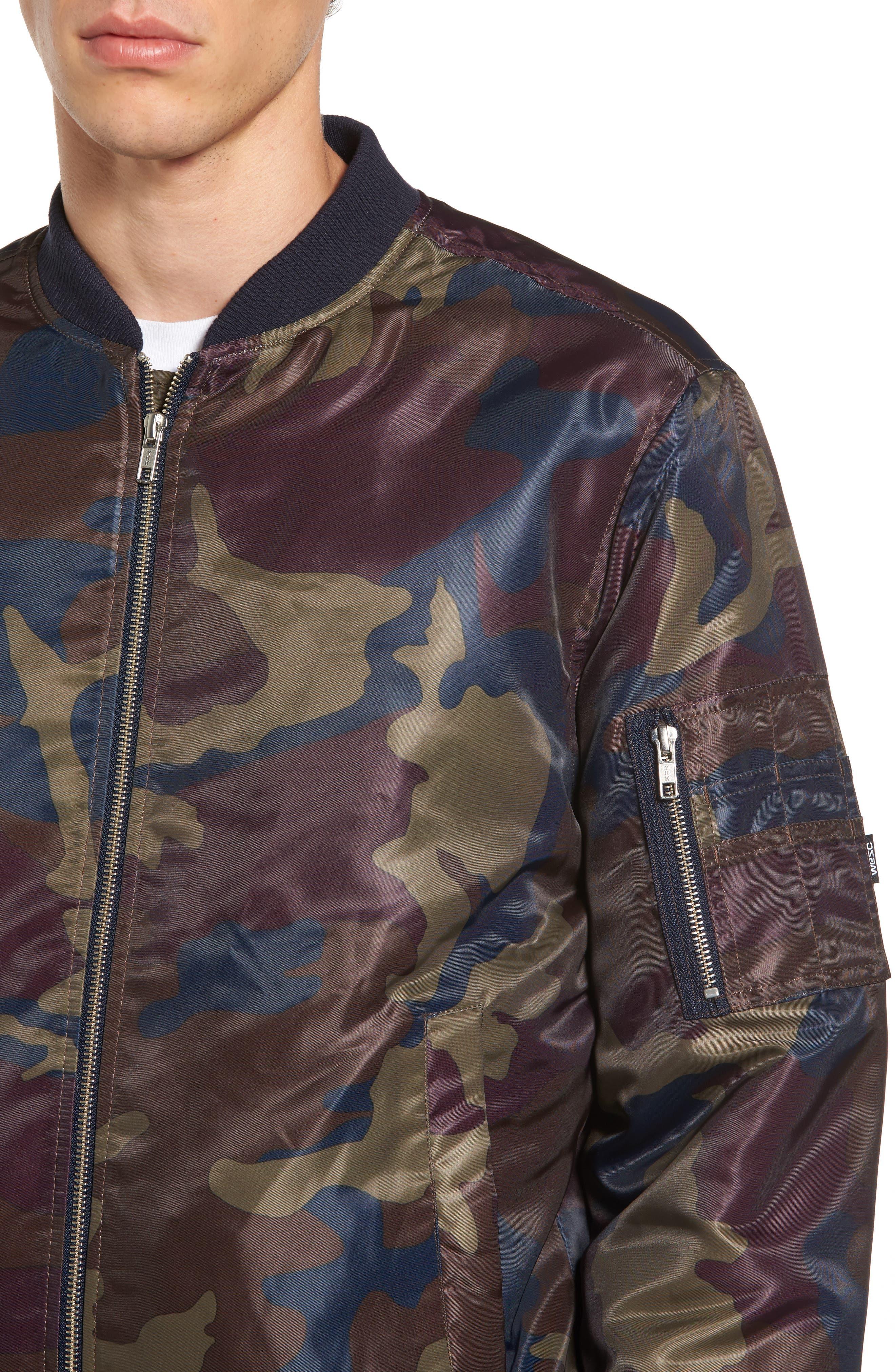 Alternate Image 4  - WeSC The Camo Bomber Jacket
