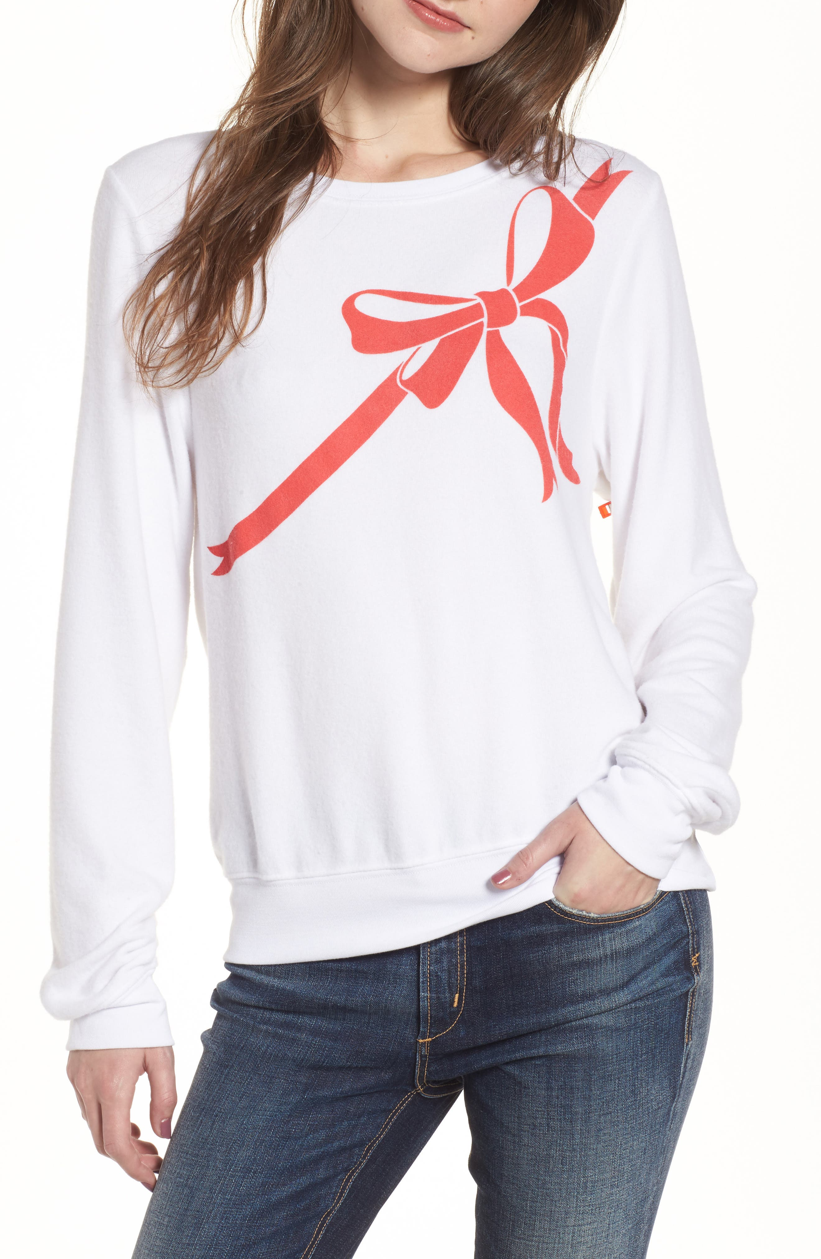 Wildfox Gift Wrapped Sweatshirt