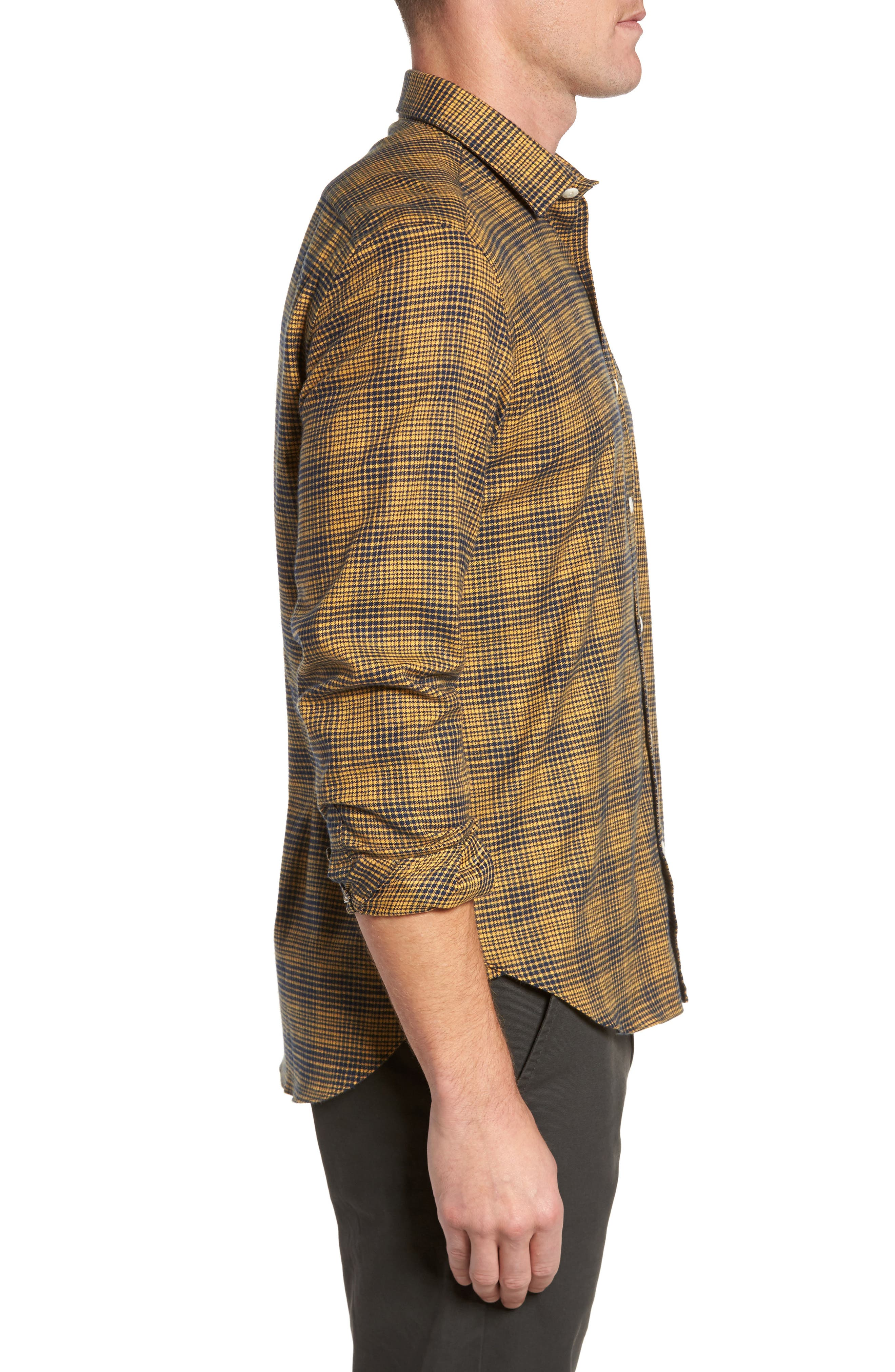 Alternate Image 3  - Culturata Glen Plaid Sport Shirt