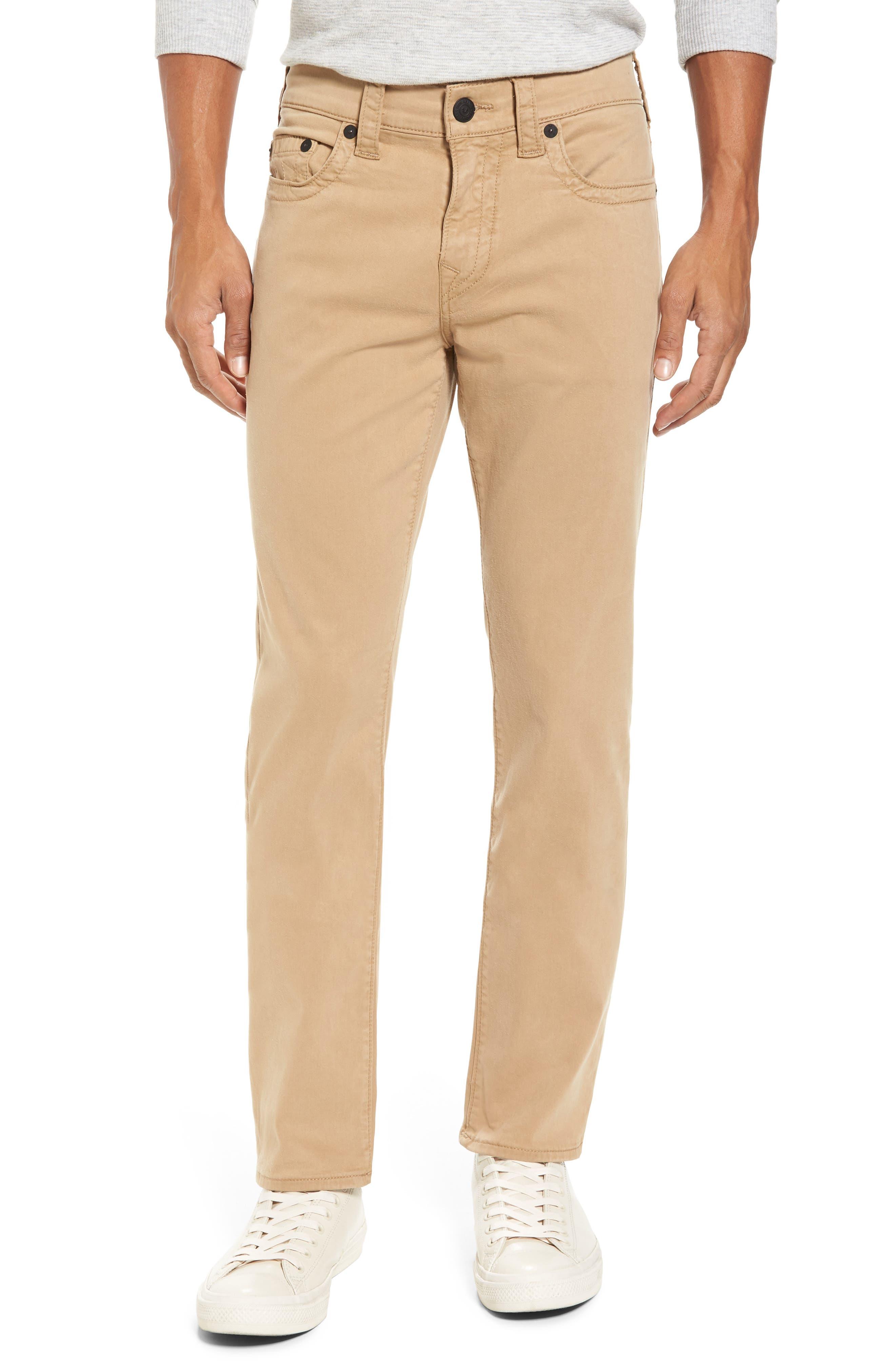 True Religion Brand Jeans Geno Straight Leg Jeans (Incense)