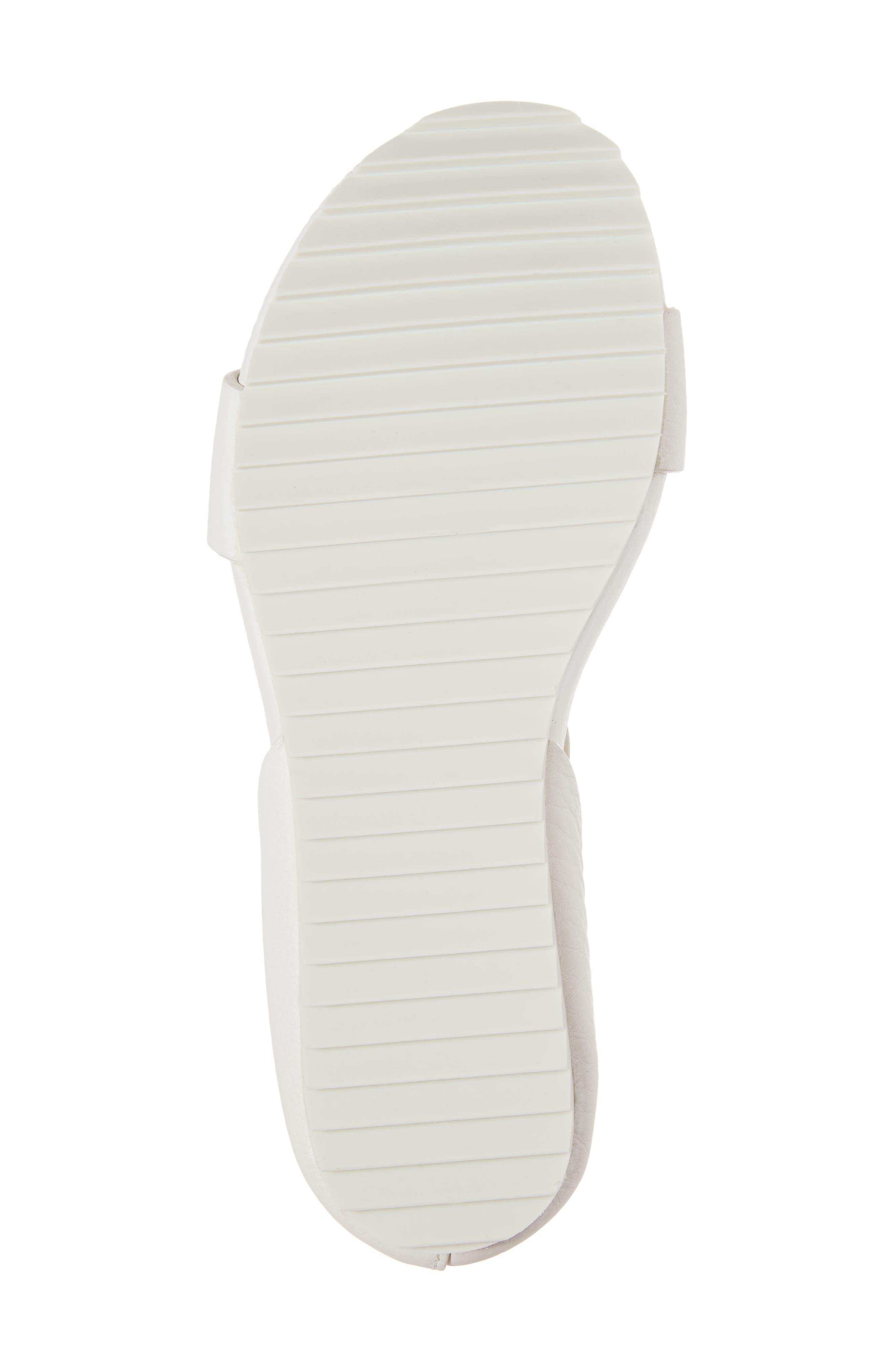 Jalila Ankle Strap Sandal,                             Alternate thumbnail 6, color,                             Chalk Cervo