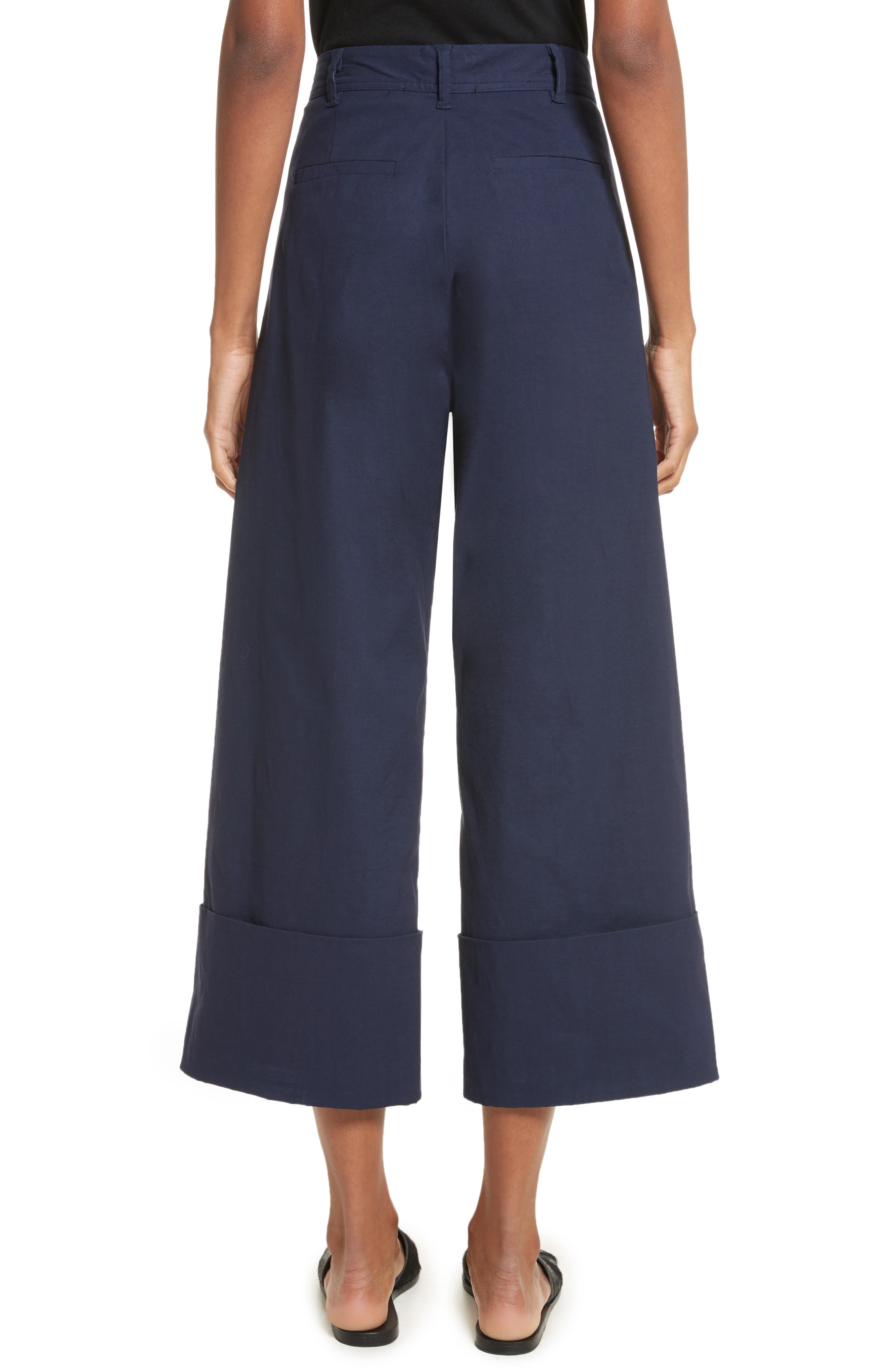 Alternate Image 4  - Sea Cuffed Wide Leg Pants