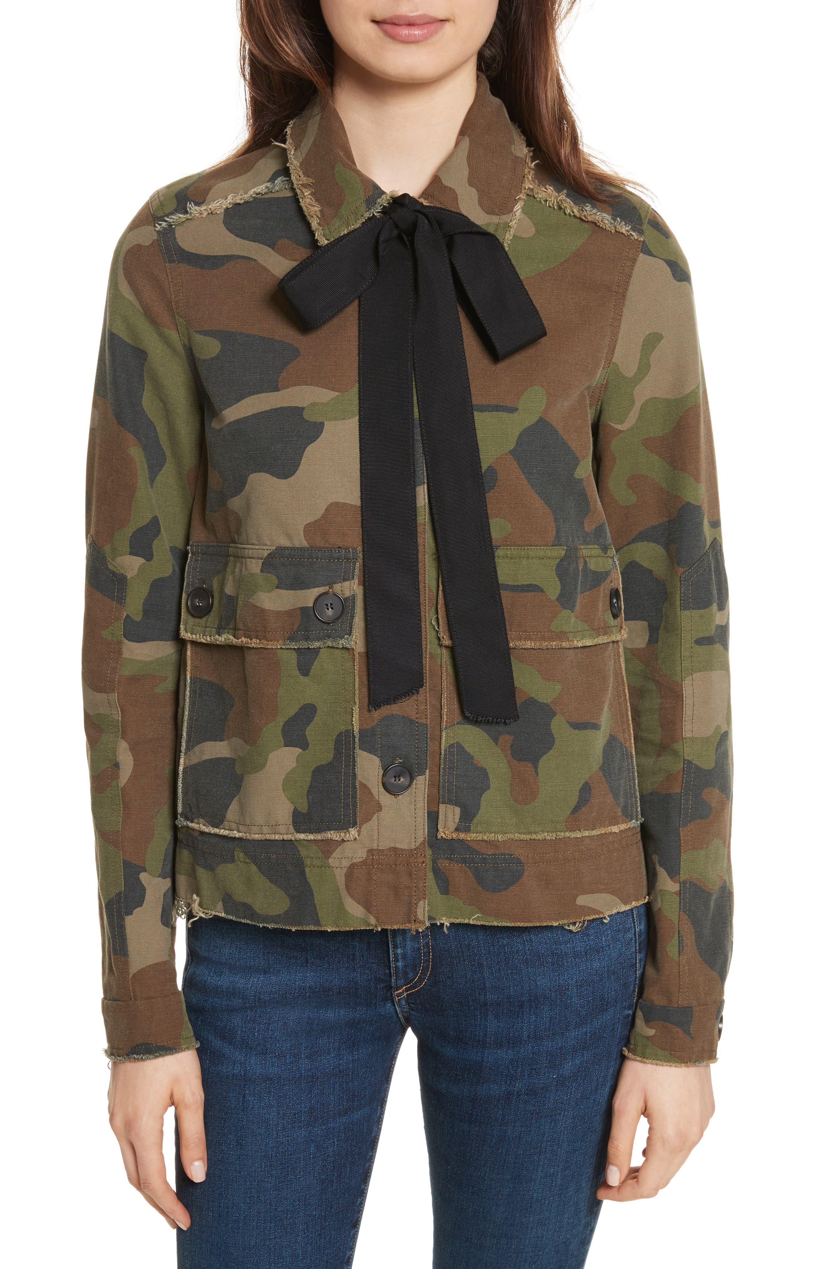 Mercer Camo Print Jacket,                         Main,                         color, Camo