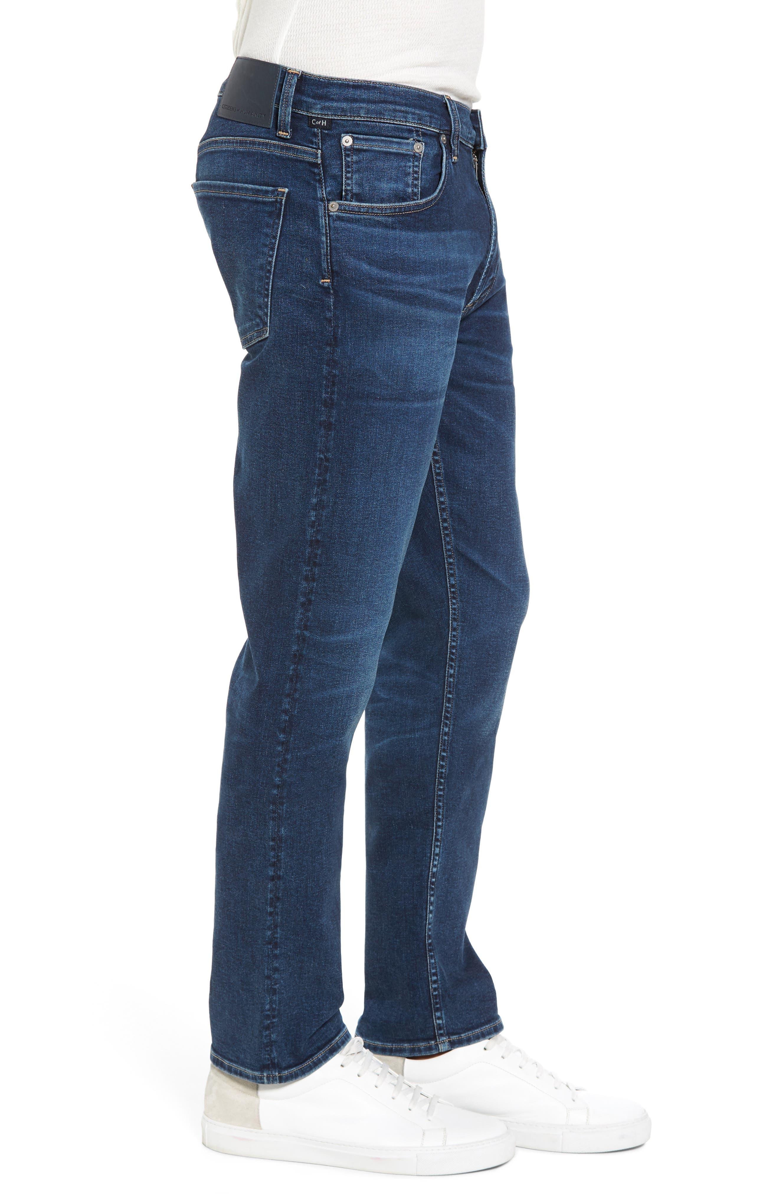 PERFORM - Gage Slim Straight Leg Jeans,                             Alternate thumbnail 3, color,                             Turner