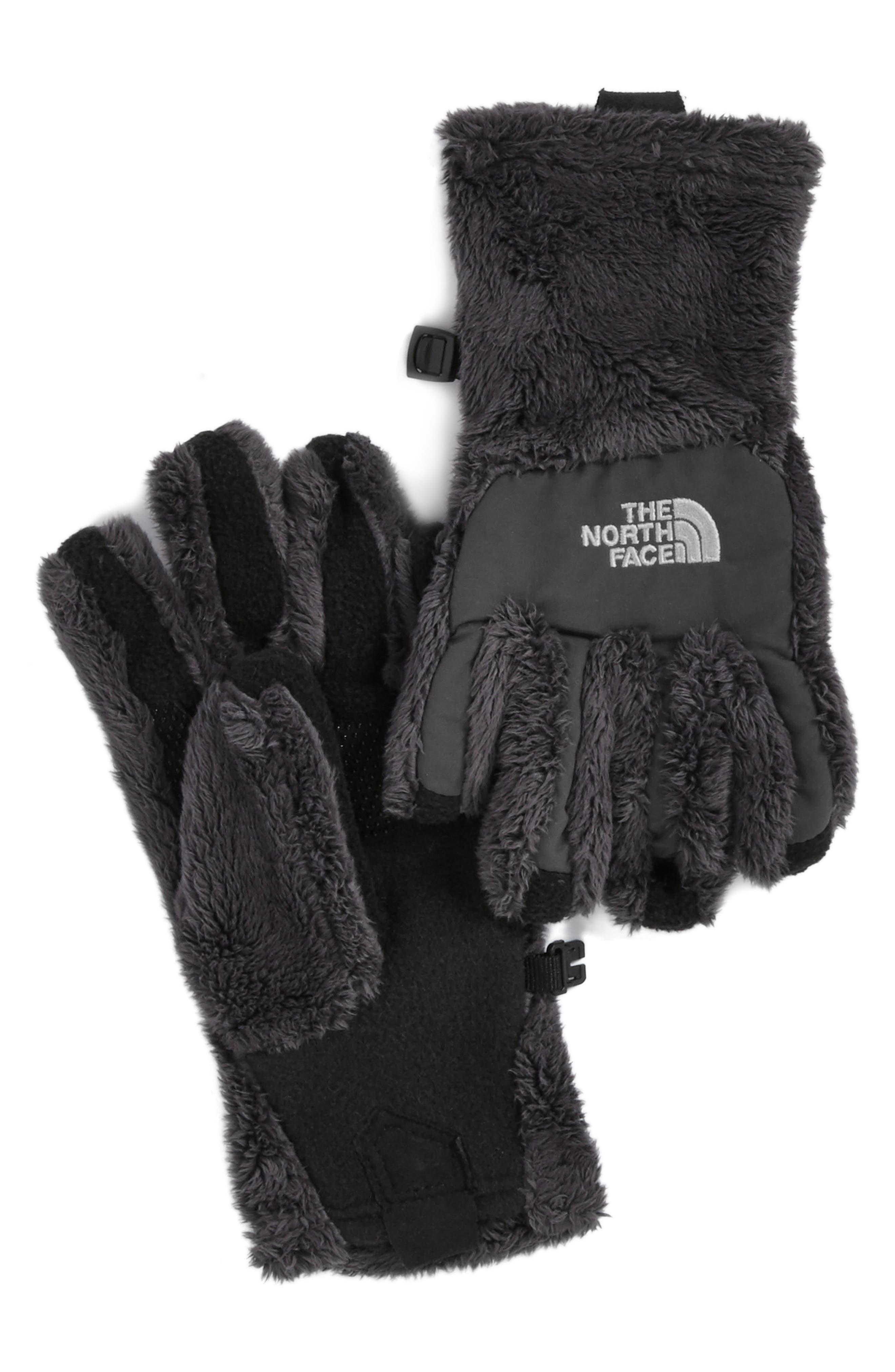 'Denali E-Tip' Thermal Gloves,                         Main,                         color, Graphite Grey