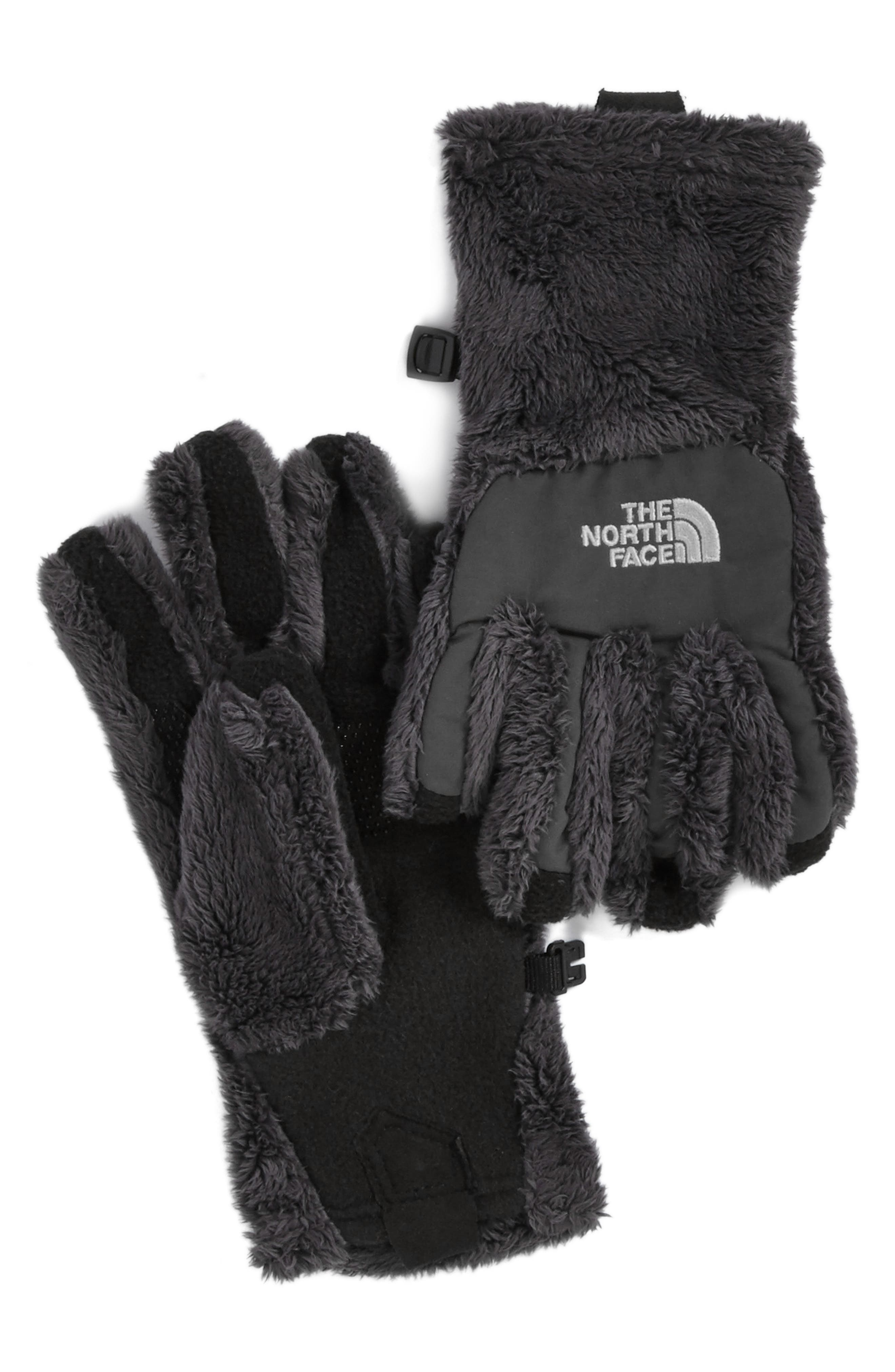 The North Face 'Denali E-Tip' Thermal Gloves (Girls)