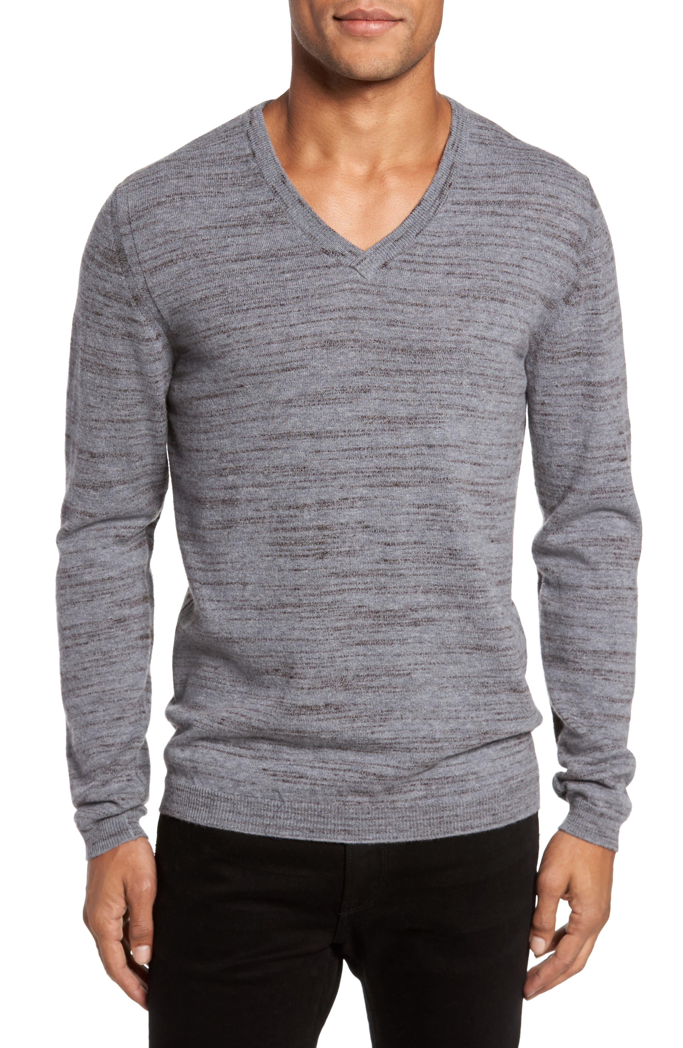 Billy Reid Space Dye Merino Wool Sweater
