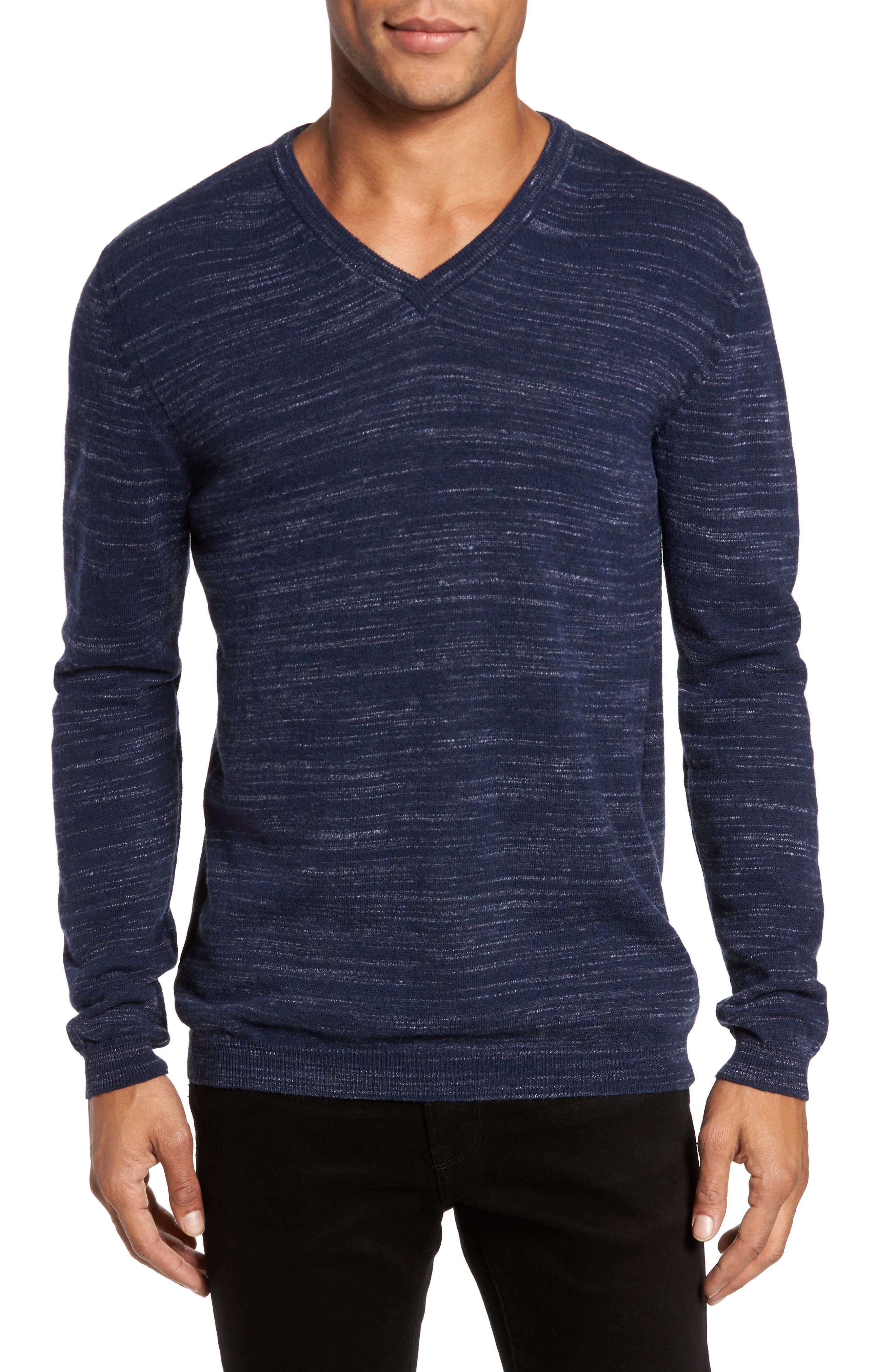 Billy Reid Space Dye Merino Wool Sweater