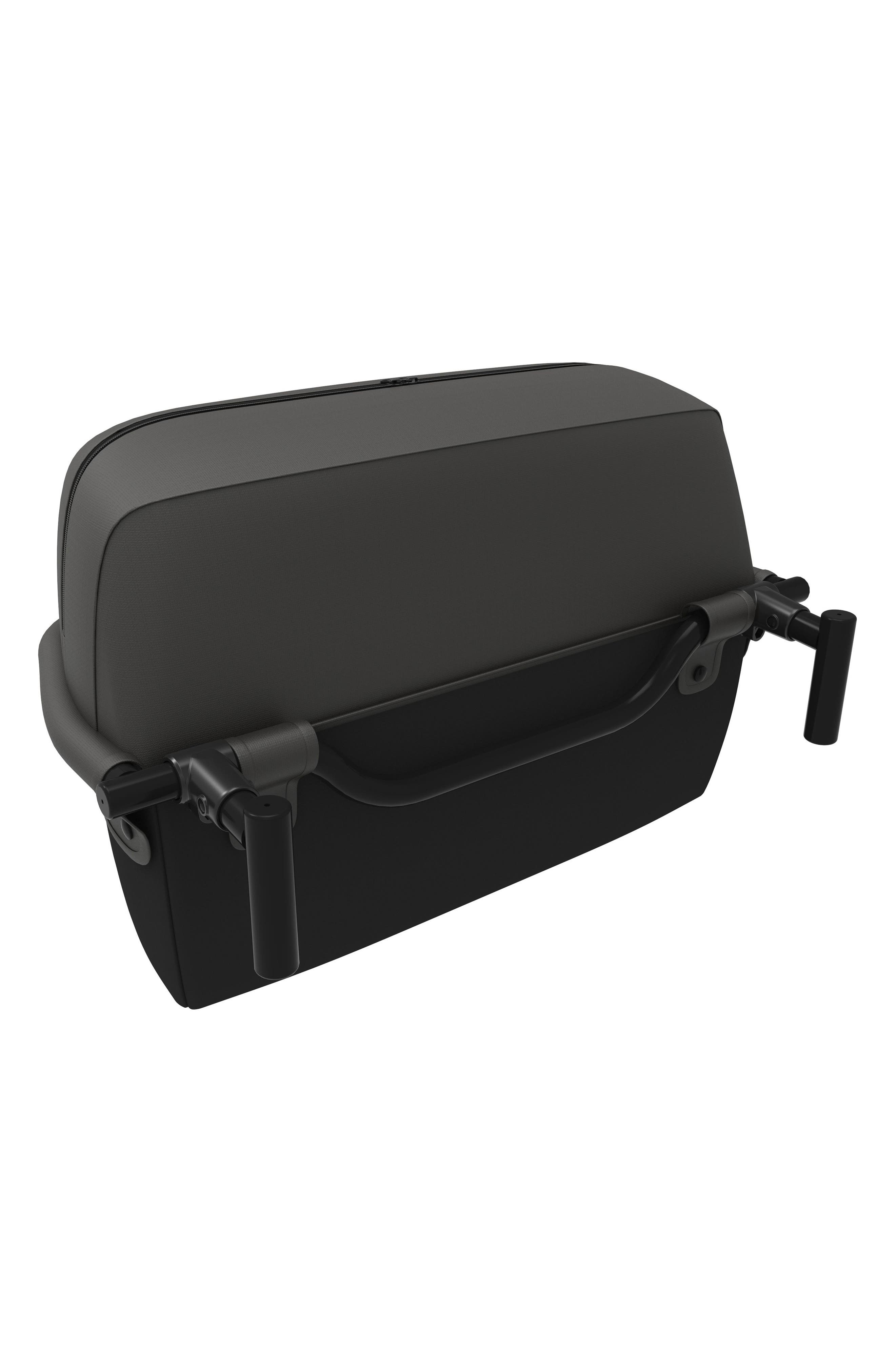 Foldable Storage Basket,                             Alternate thumbnail 4, color,                             Black