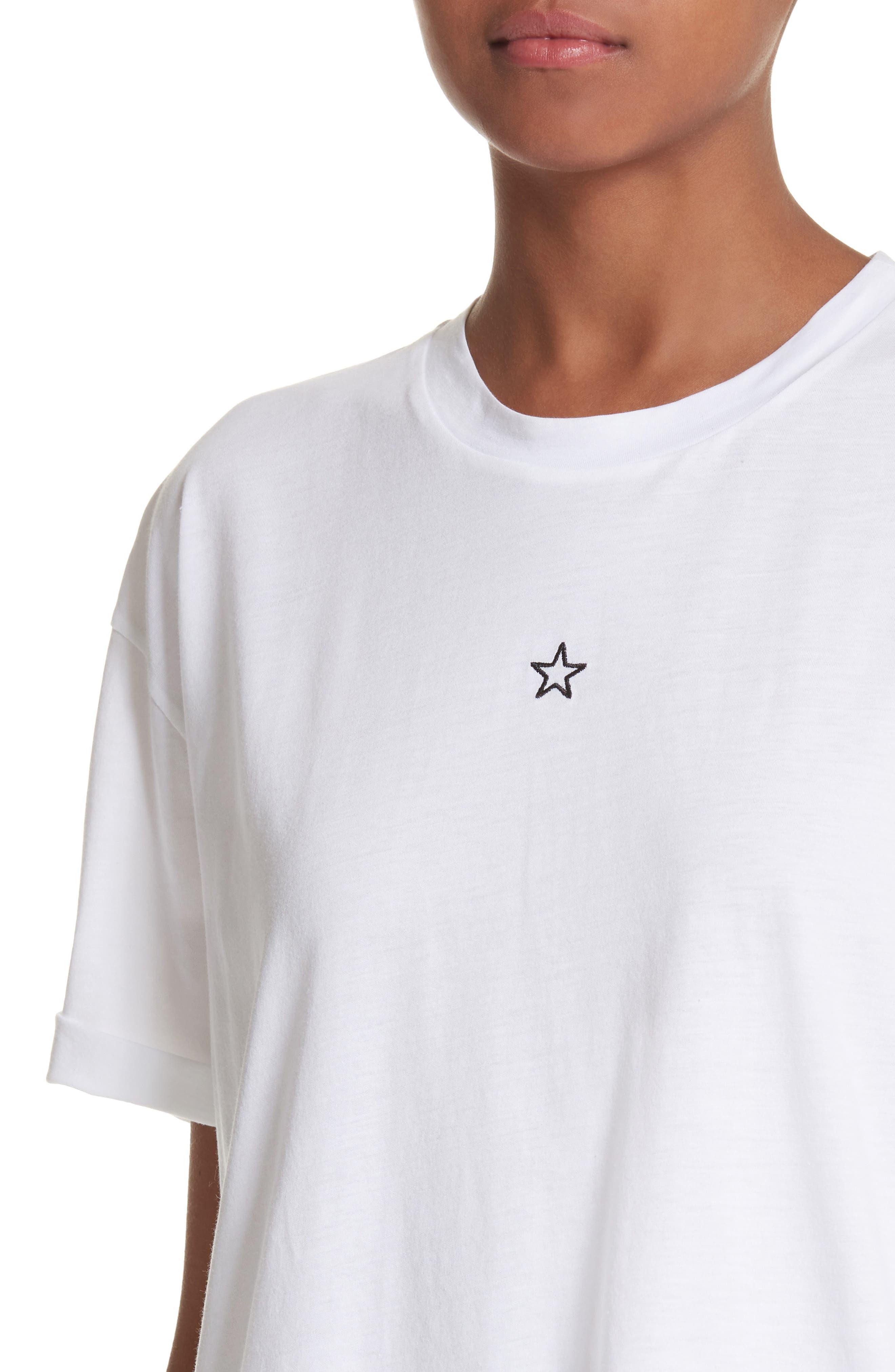 Alternate Image 3  - Stella McCartney Ministar Logo Cotton Tee