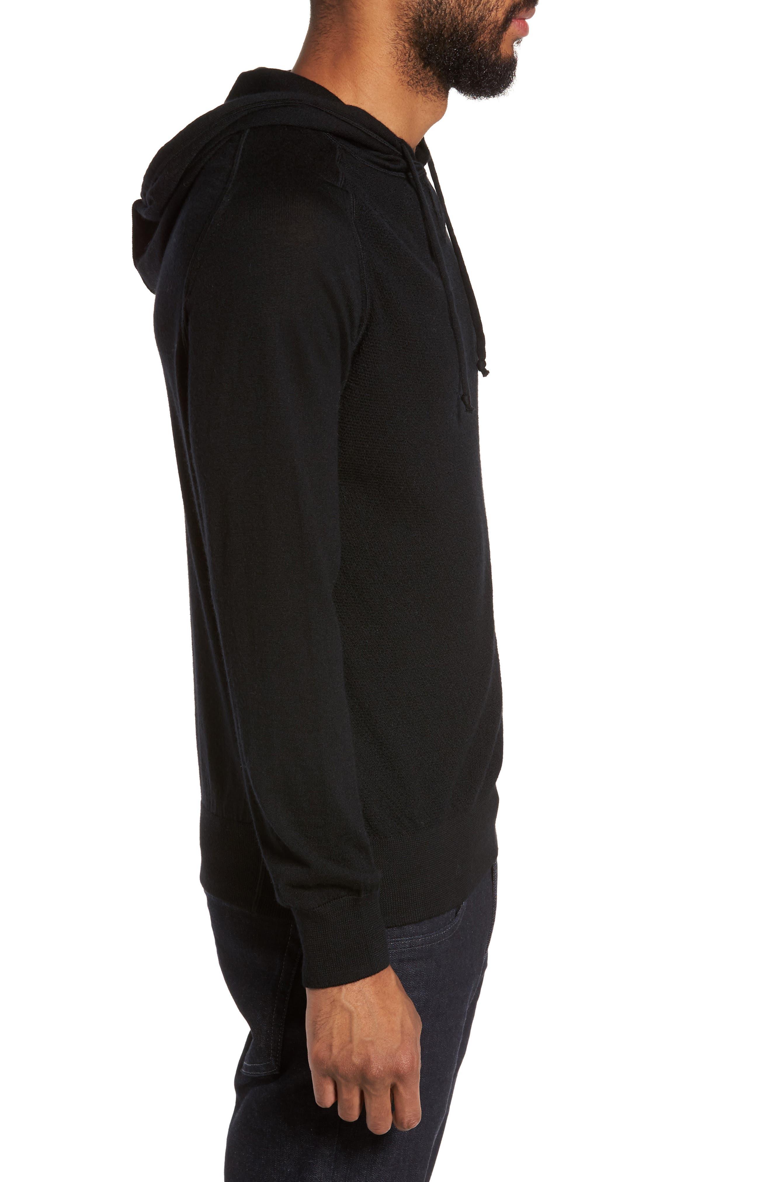 Alternate Image 3  - Good Man Brand Classic Slim Fit Merino Wool Hoodie