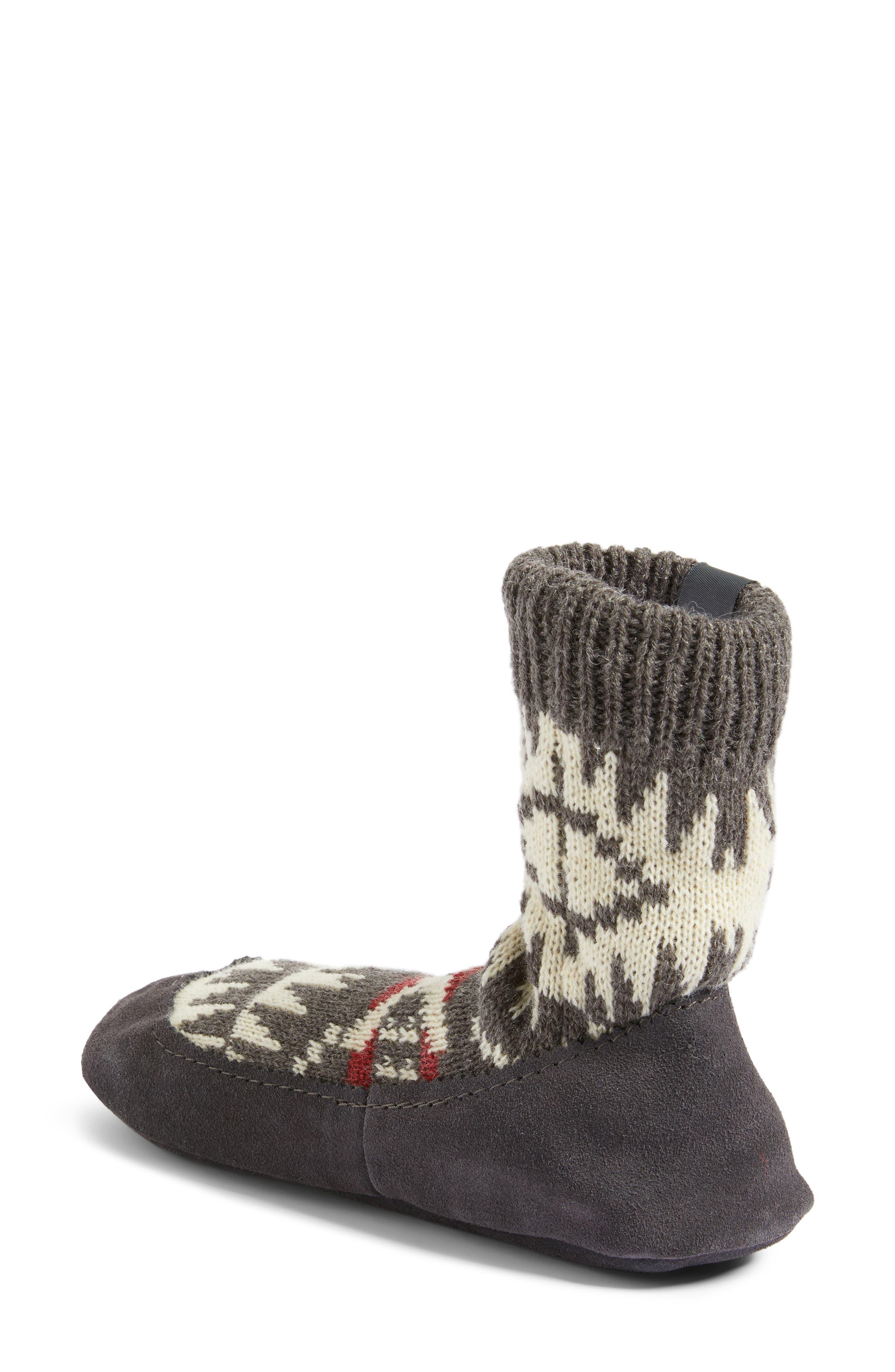 Alternate Image 2  - Pendleton Spider Rock Homestead Slipper Socks