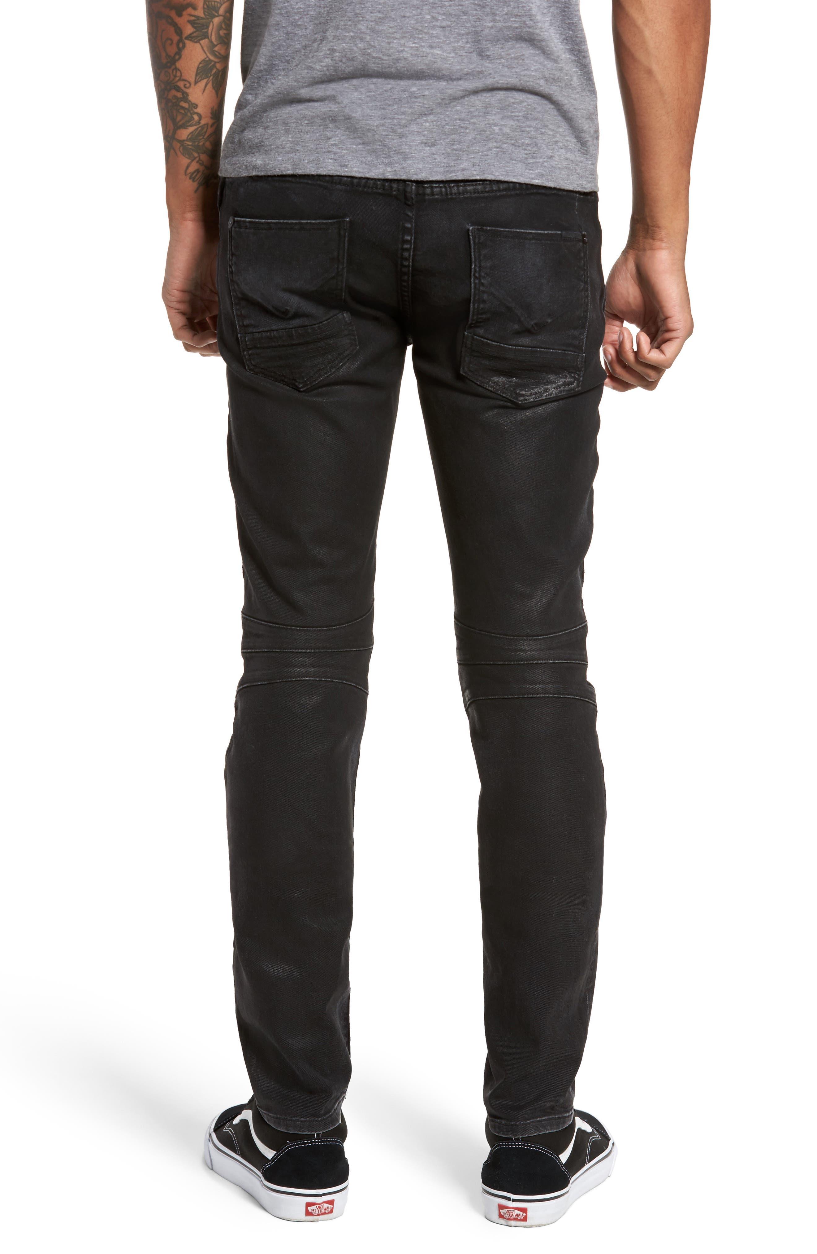 Alternate Image 2  - Hudson Jeans Blinder Biker Skinny Fit Jeans (Skeme)