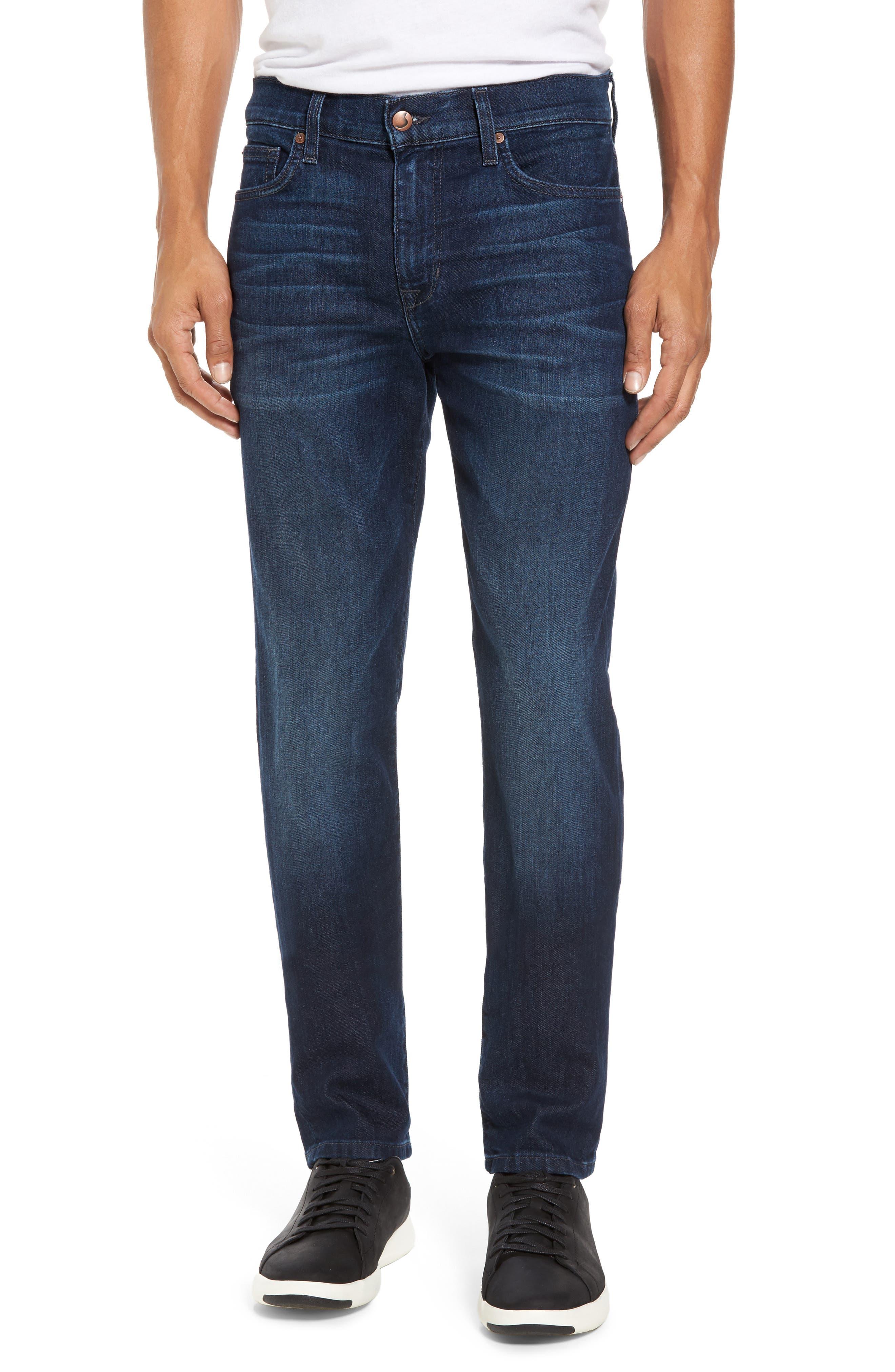 Slim Fit Jeans,                         Main,                         color, Izaak