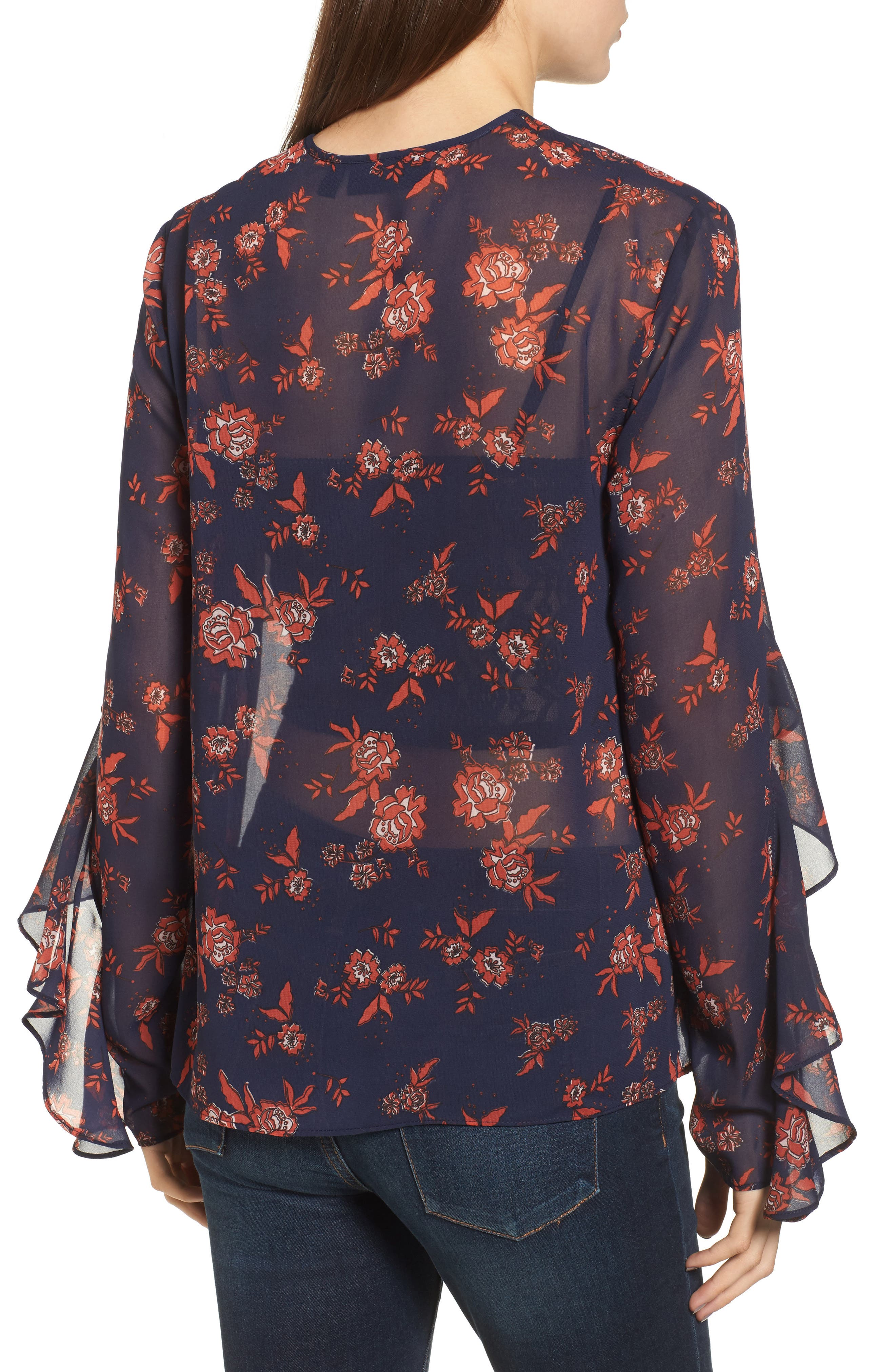 Alternate Image 2  - The Fifth Label Capital Floral Blouse