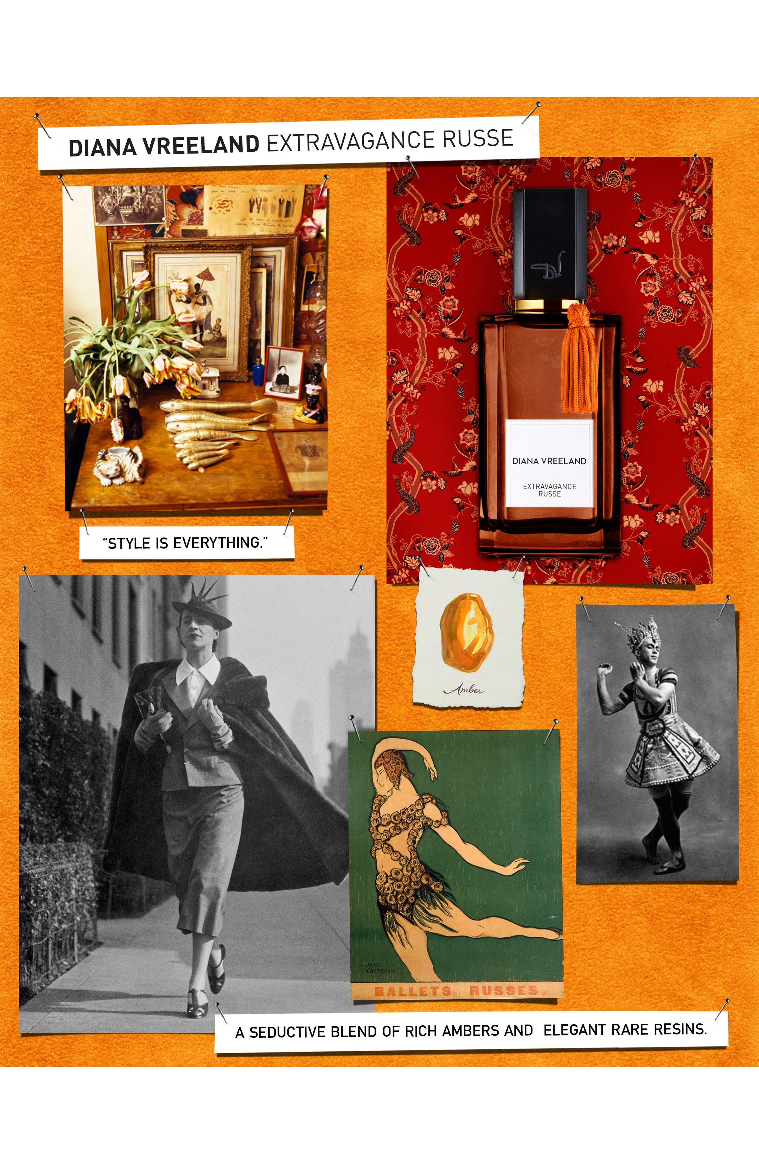 Alternate Image 3  - Diana Vreeland 'Extravagance Russe' Eau de Parfum