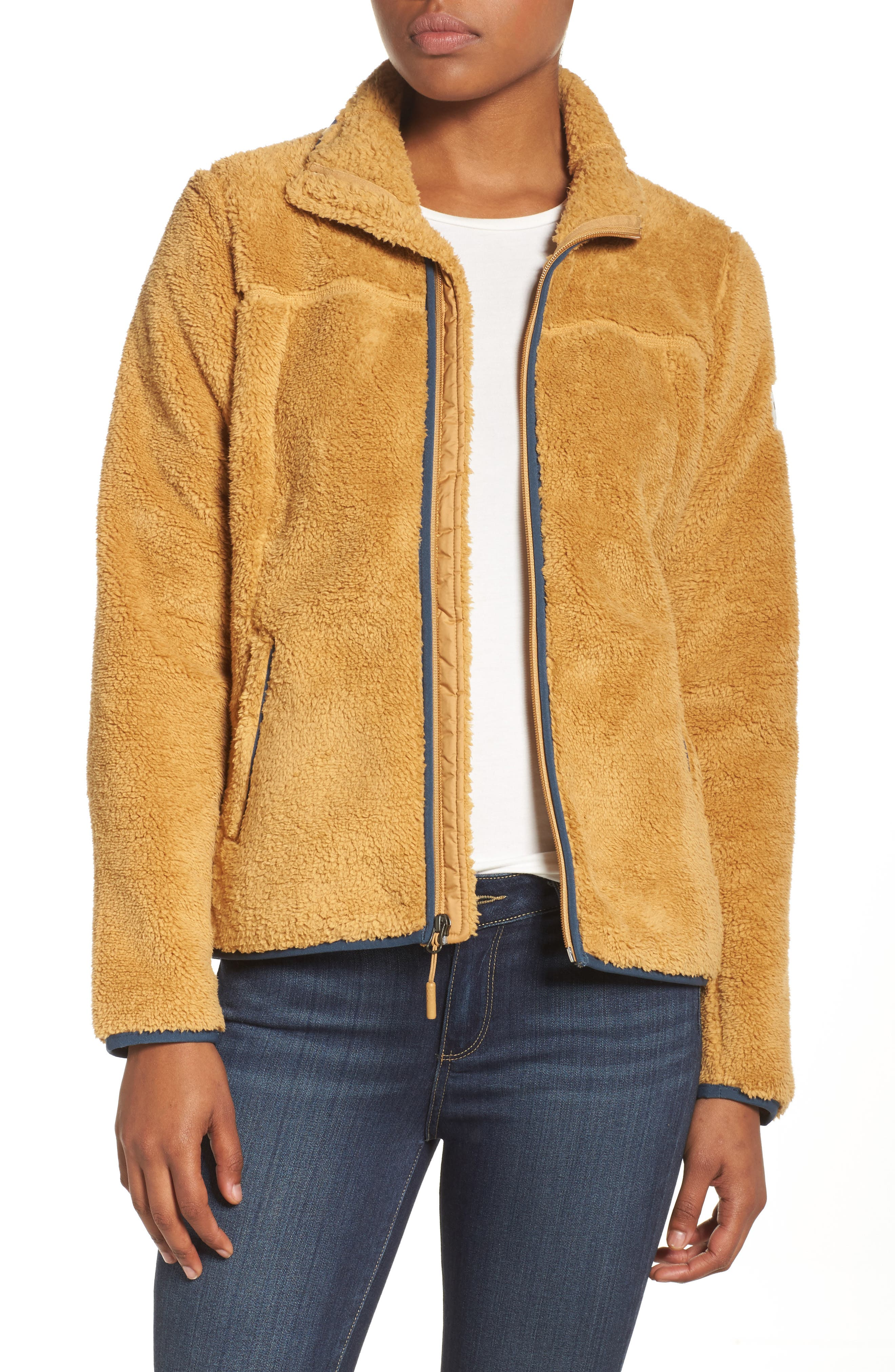 Campshire Zip Jacket,                             Main thumbnail 1, color,                             Biscuit Tan