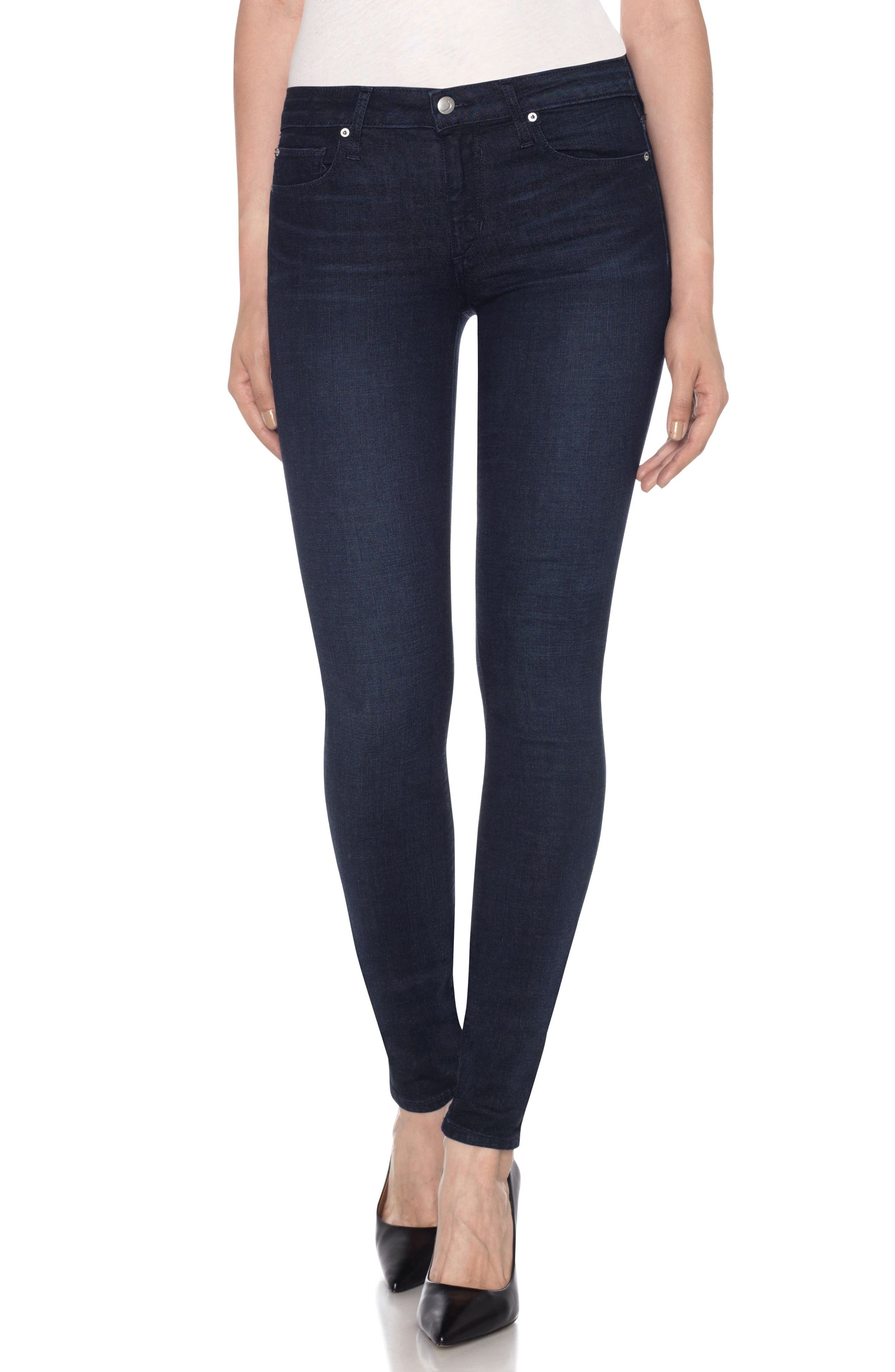 Flawless - Twiggy Skinny Jeans,                             Main thumbnail 1, color,                             Foley