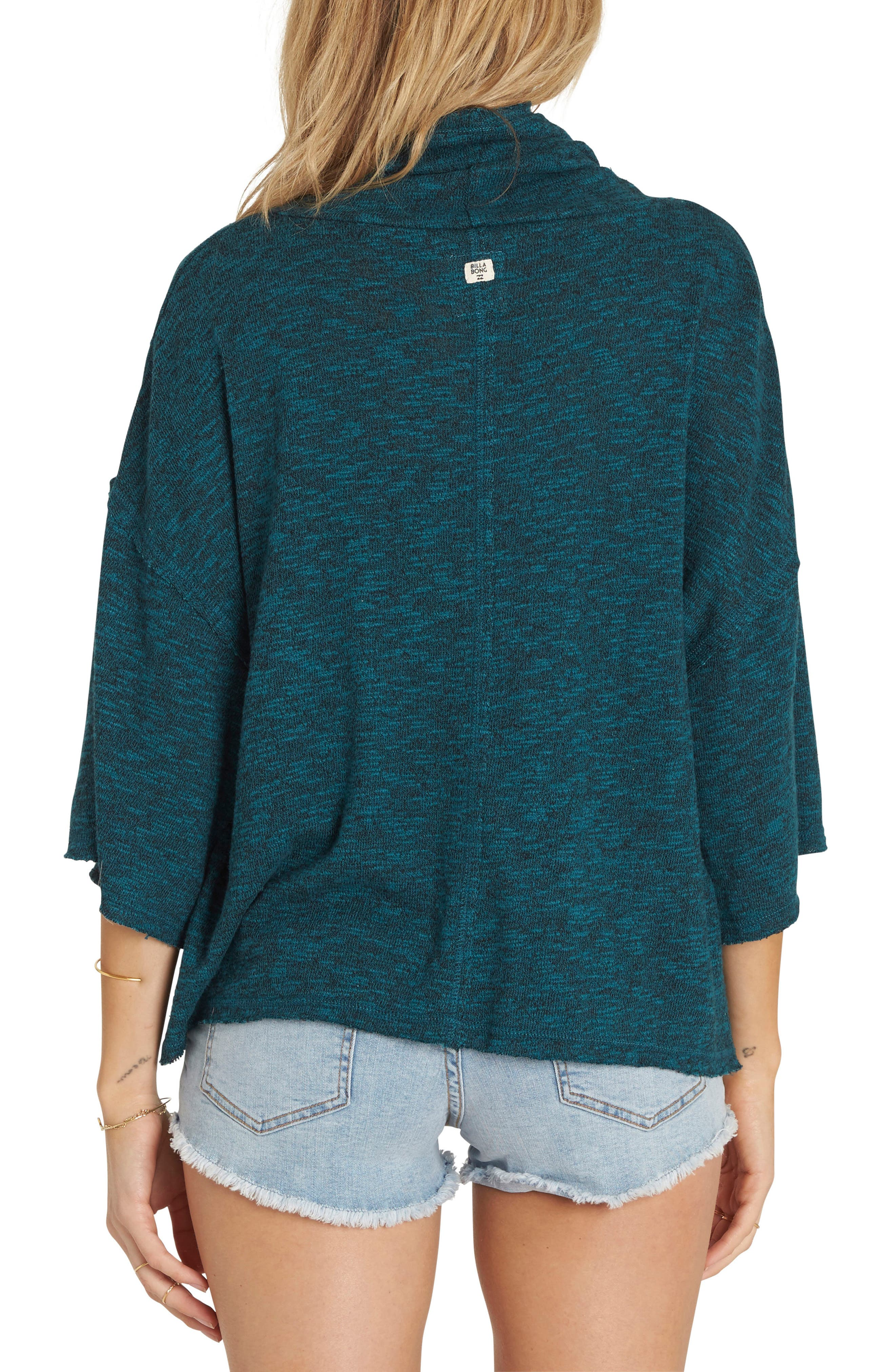 Alternate Image 2  - Billabong Take a Stand Cowl Neck Sweater