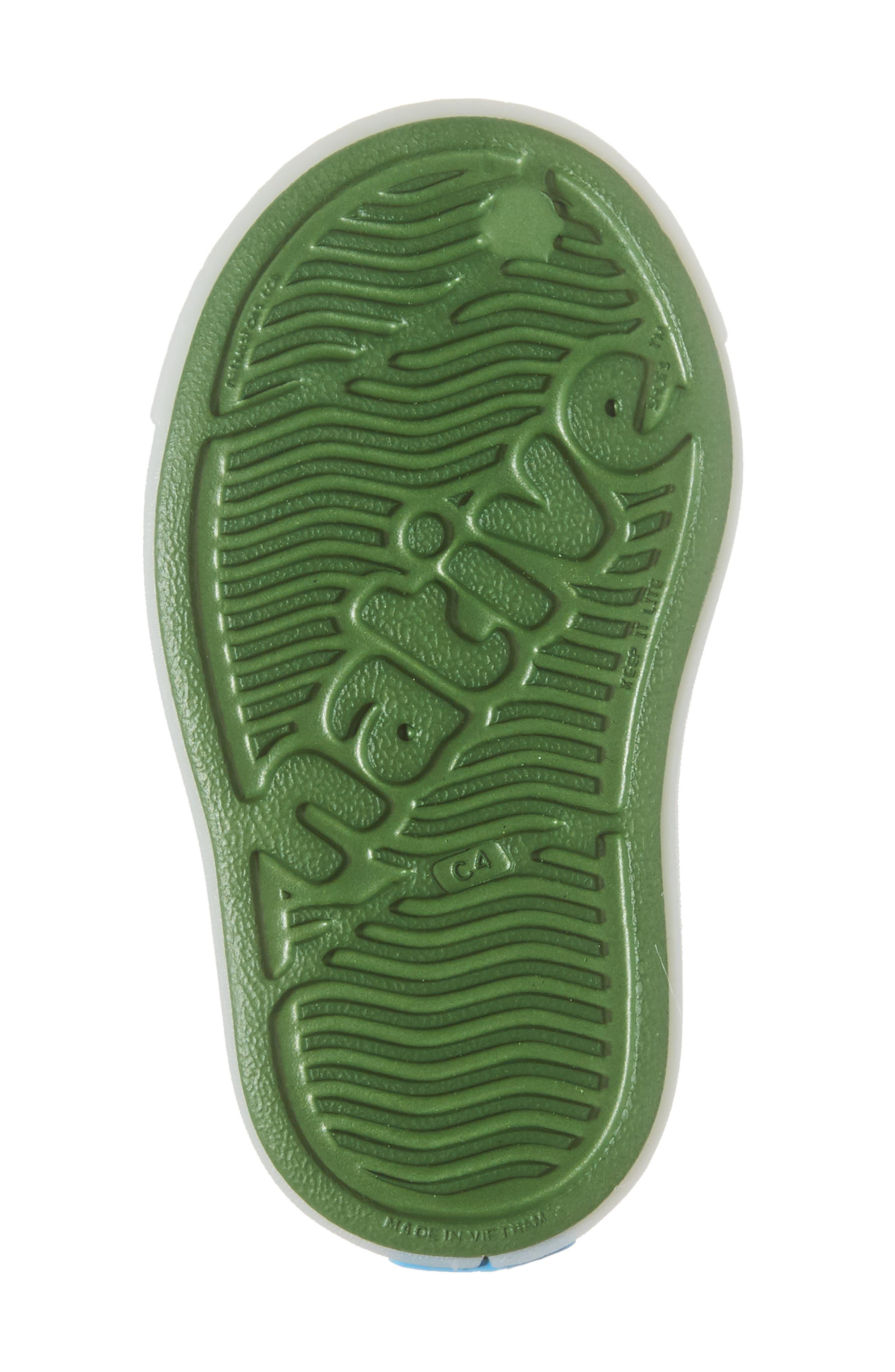 Alternate Image 6  - Native Shoes Jefferson - Glow in the Dark Sneaker (Walker, Toddler & Little Kid)