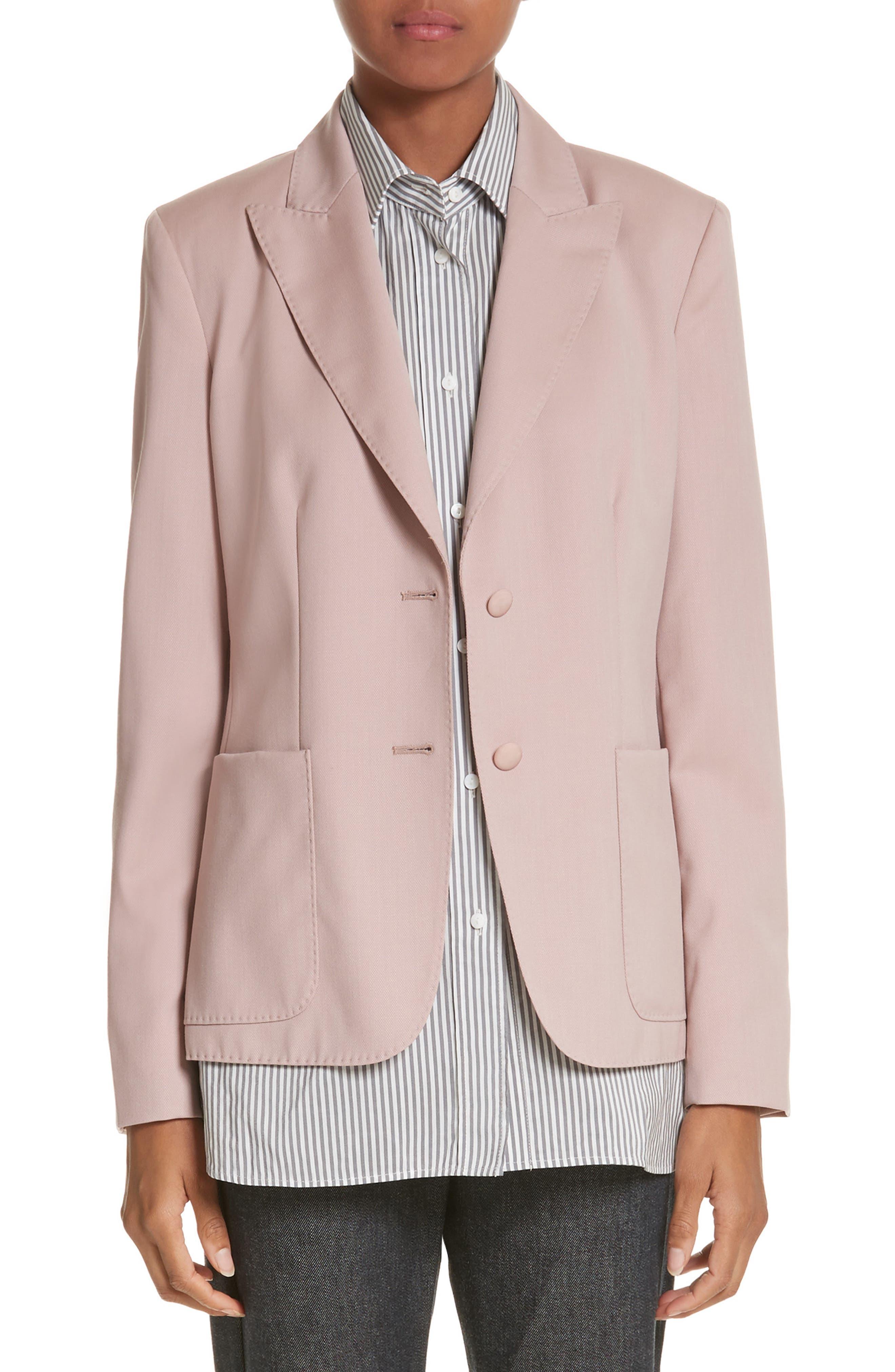 Panaro Wool Jacket,                             Main thumbnail 1, color,                             Blush
