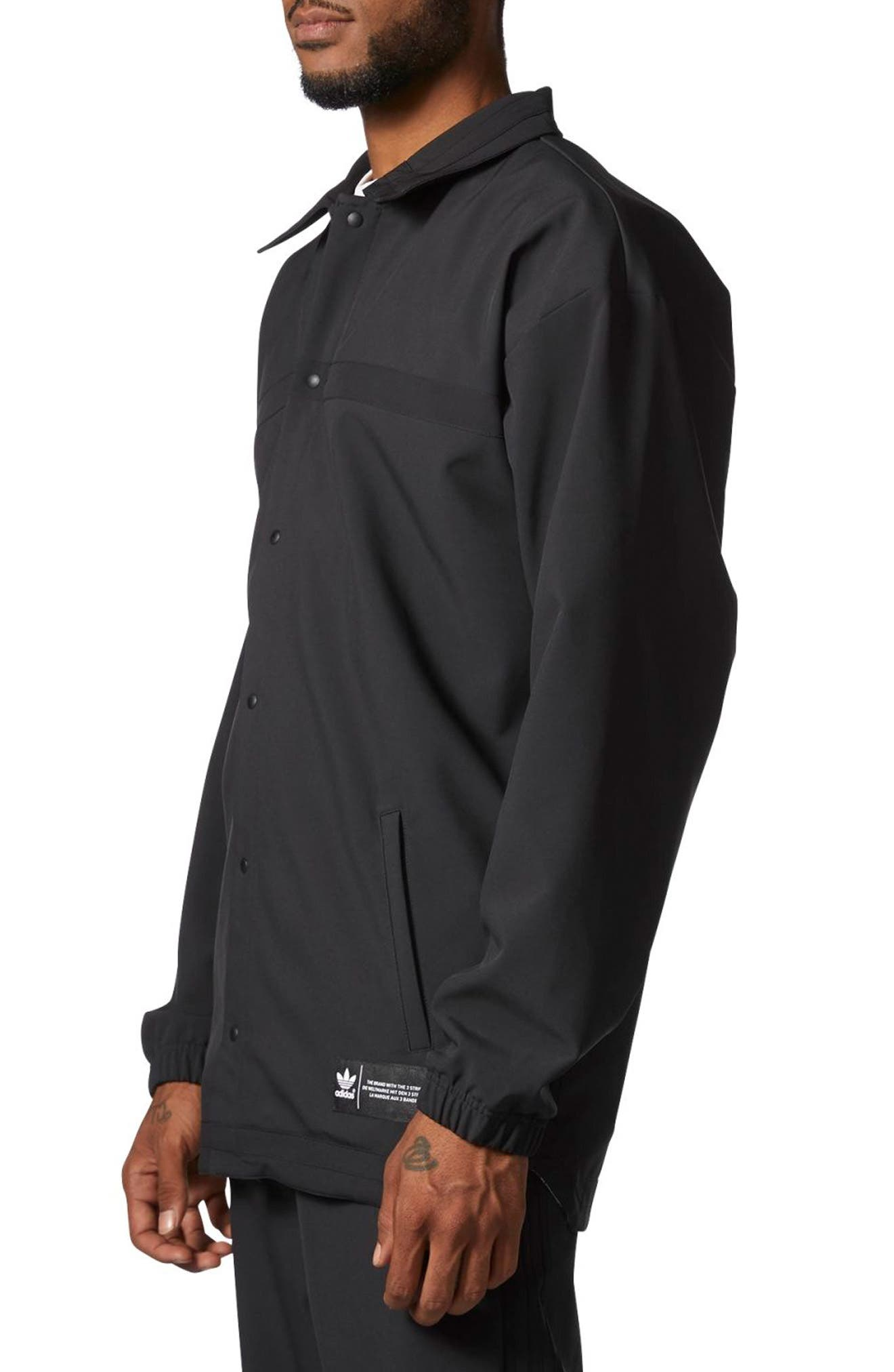 CR8 Coach's Jacket,                             Alternate thumbnail 3, color,                             Black