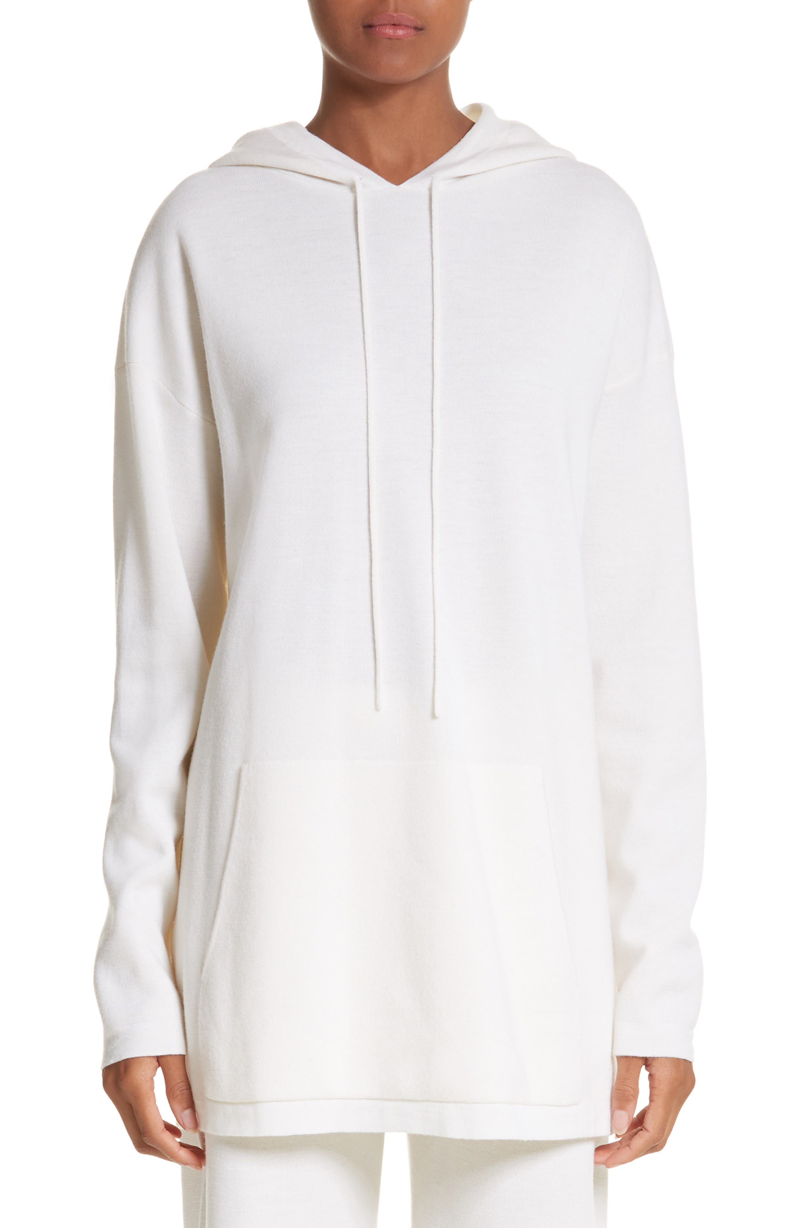 Max Mara Marmo Wool Hooded Sweatshirt