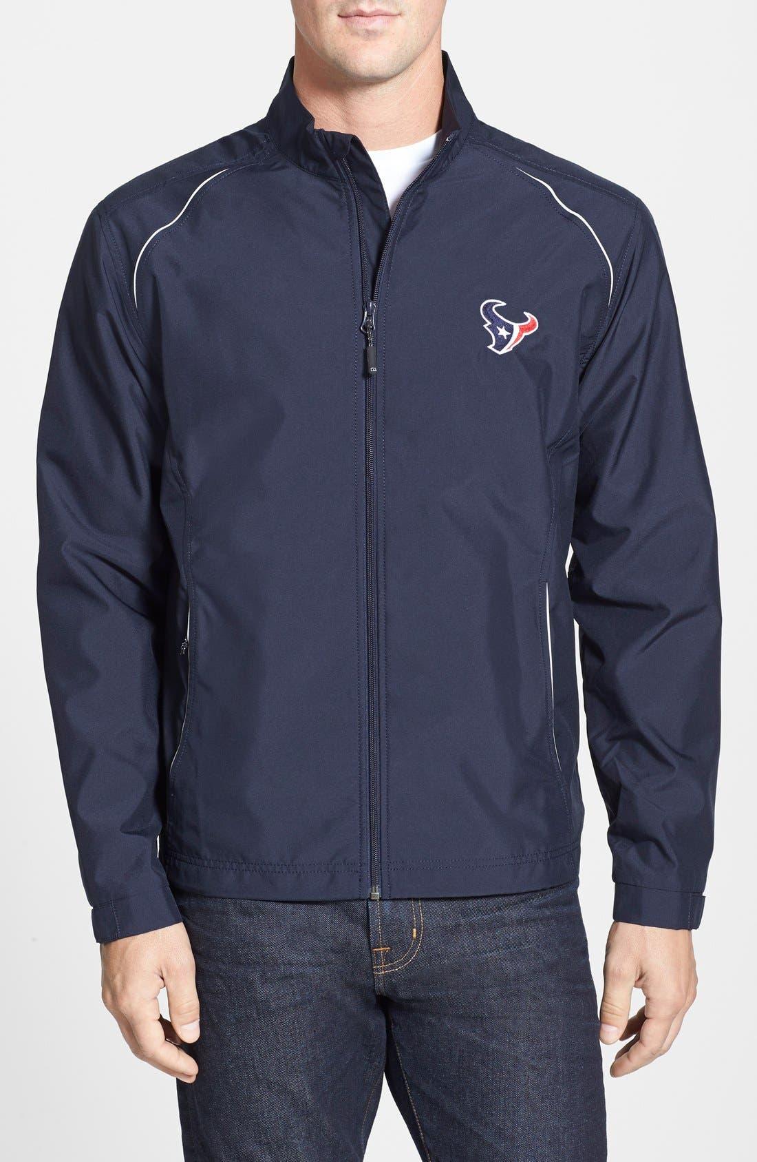 Houston Texans - Beacon WeatherTec Wind & Water Resistant Jacket,                         Main,                         color, Navy Blue