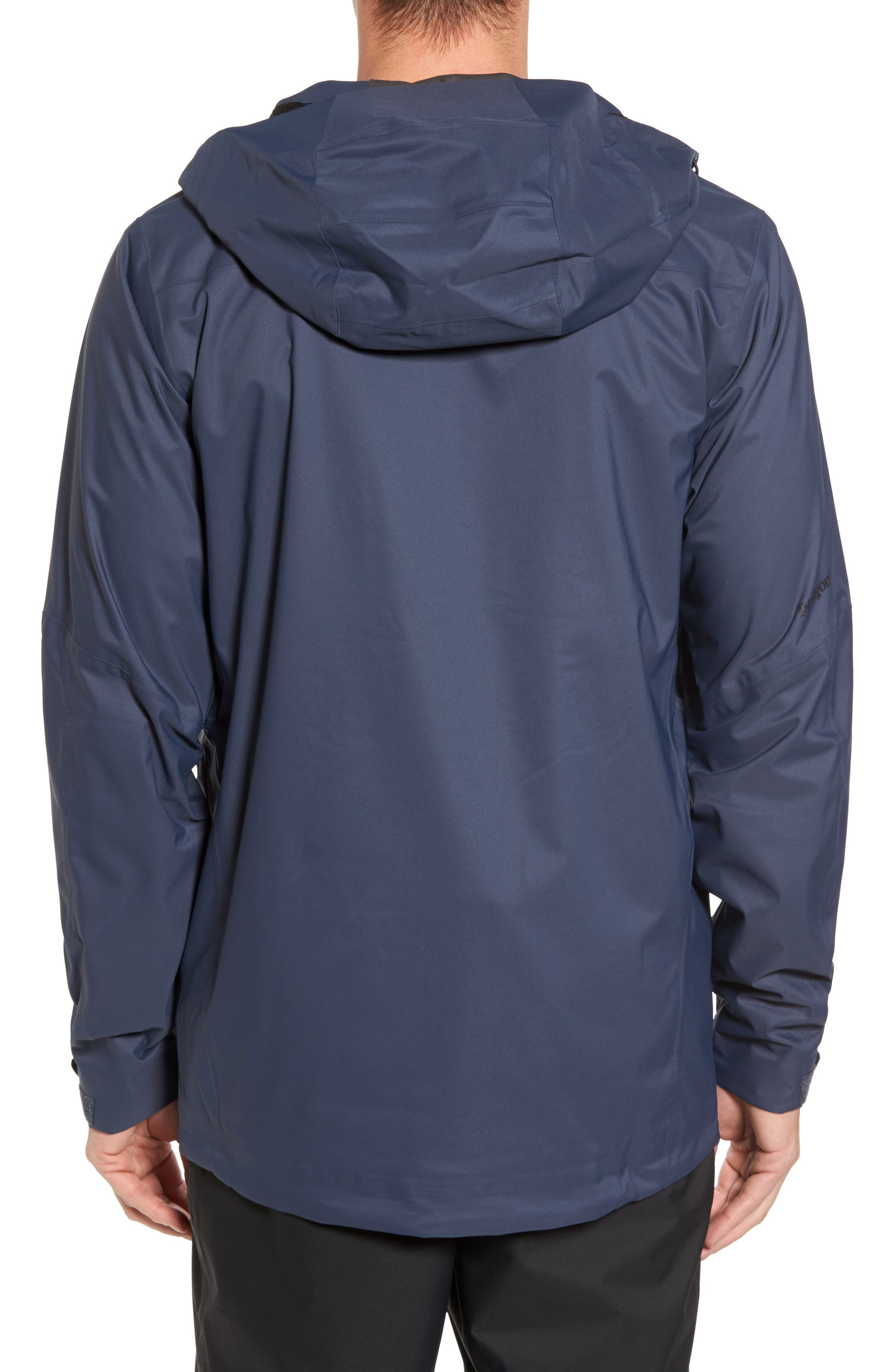 Snowshot 3-in-1 Waterproof Snowsports Jacket,                             Alternate thumbnail 2, color,                             Smolder Blue