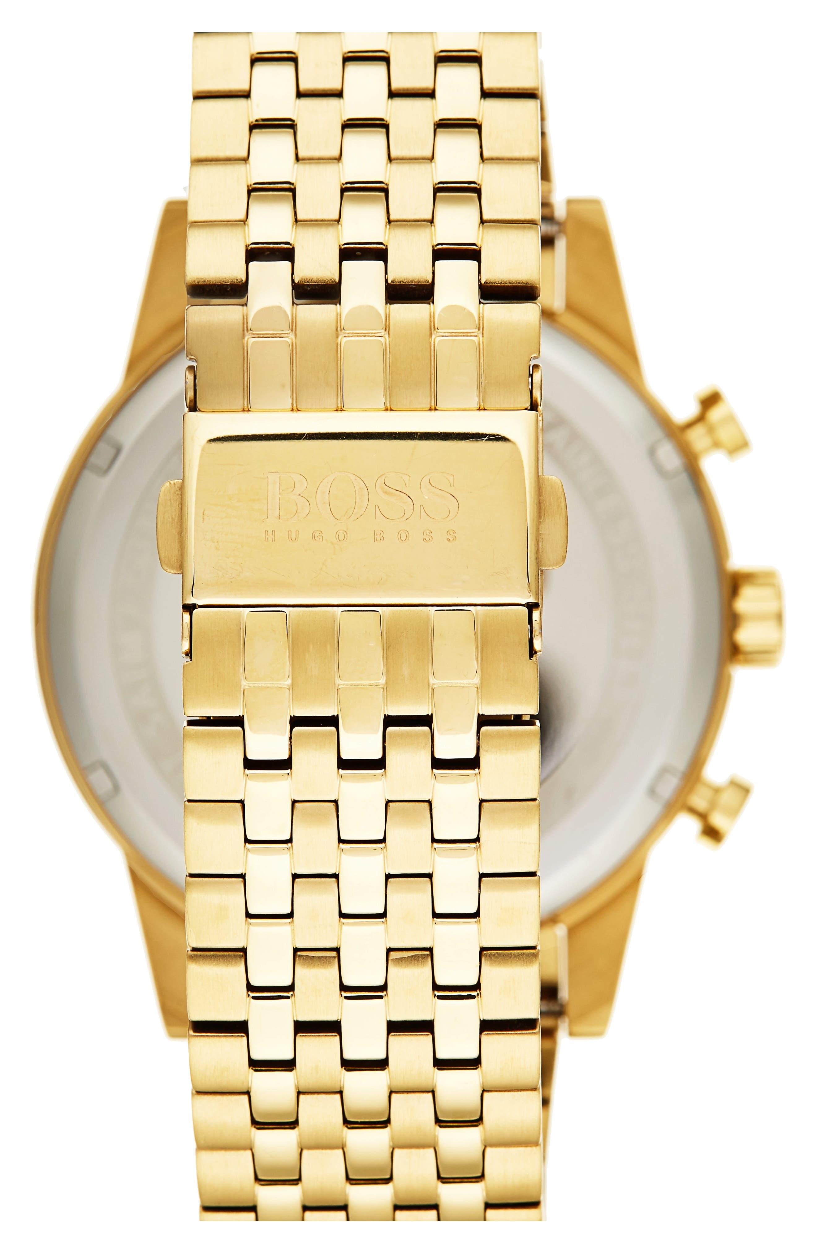 Alternate Image 2  - BOSS Navigator Chronograph Bracelet Watch, 44mm