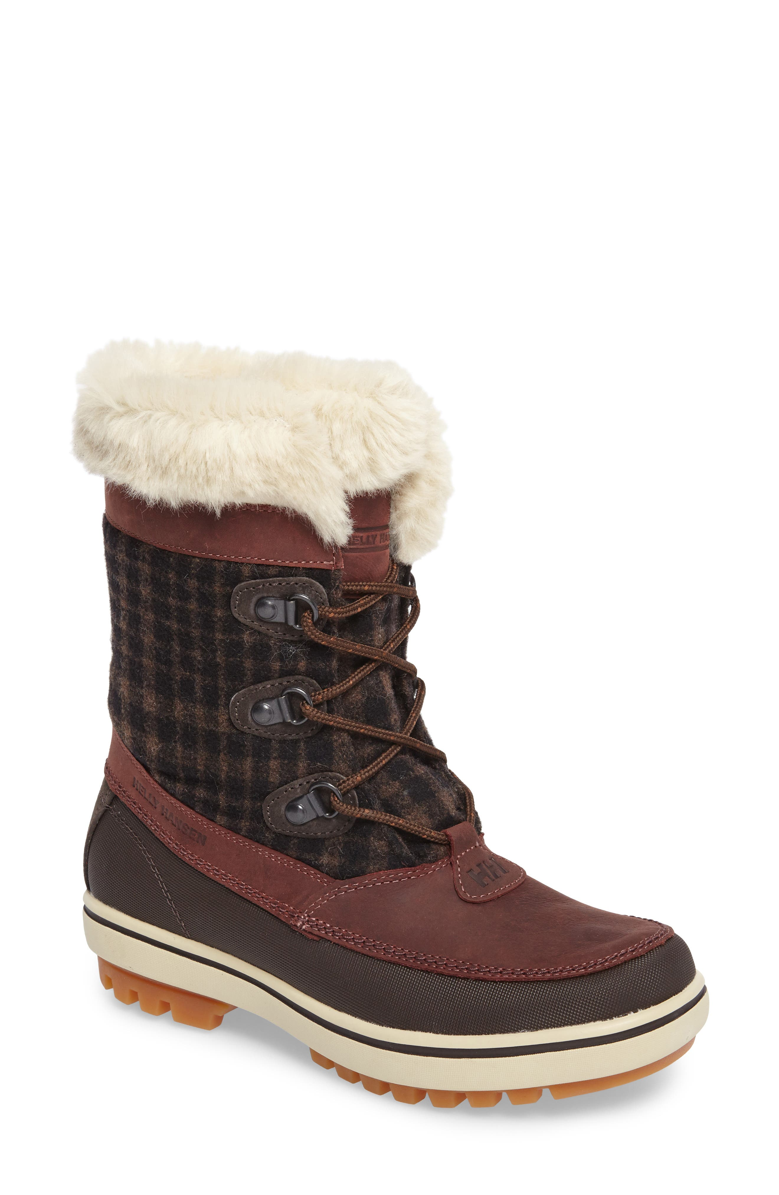 Georgina Snow Boot,                             Main thumbnail 1, color,                             Whiskey