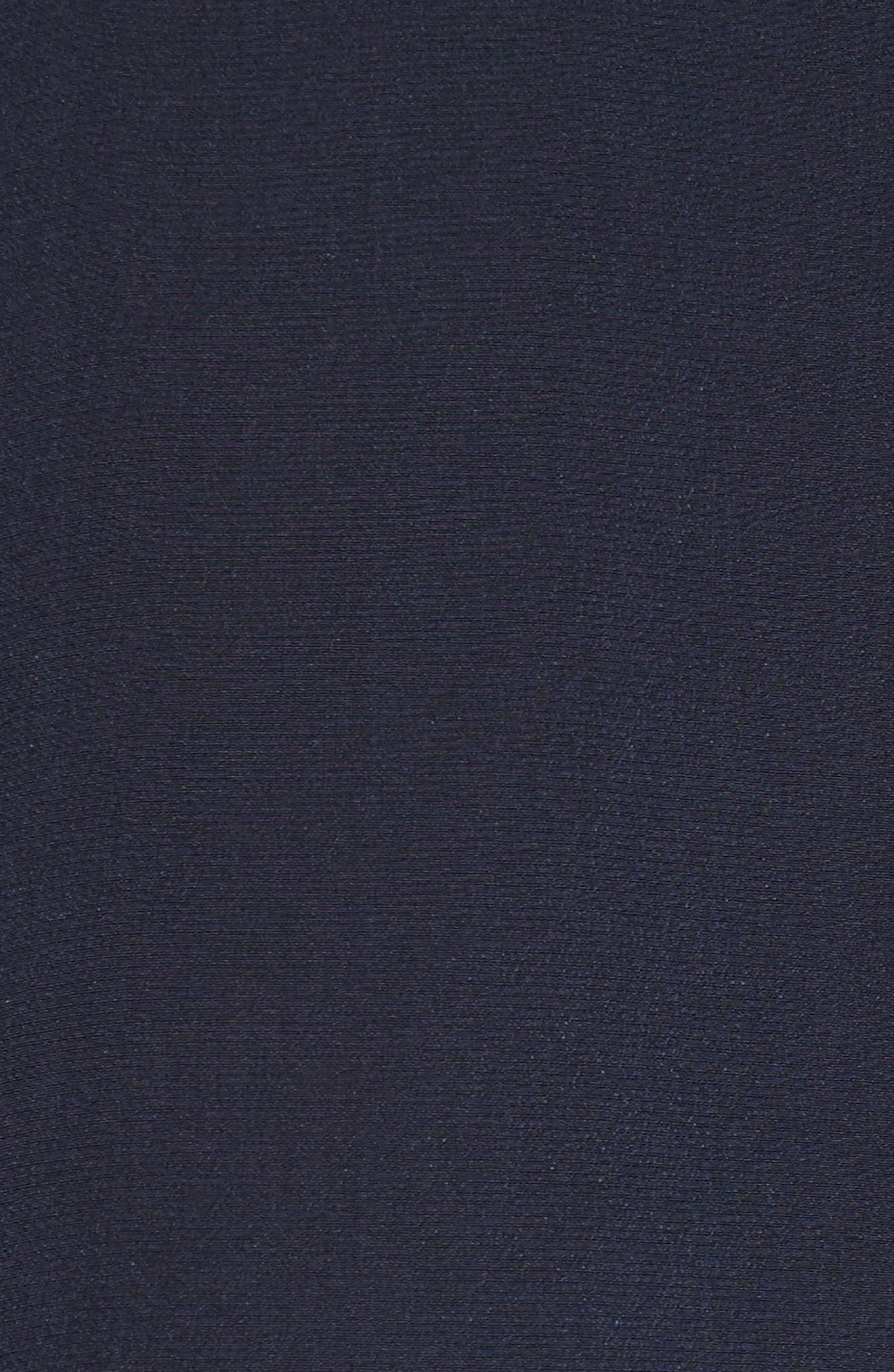 Alternate Image 5  - Rebecca Taylor Lace Trim Silk Top