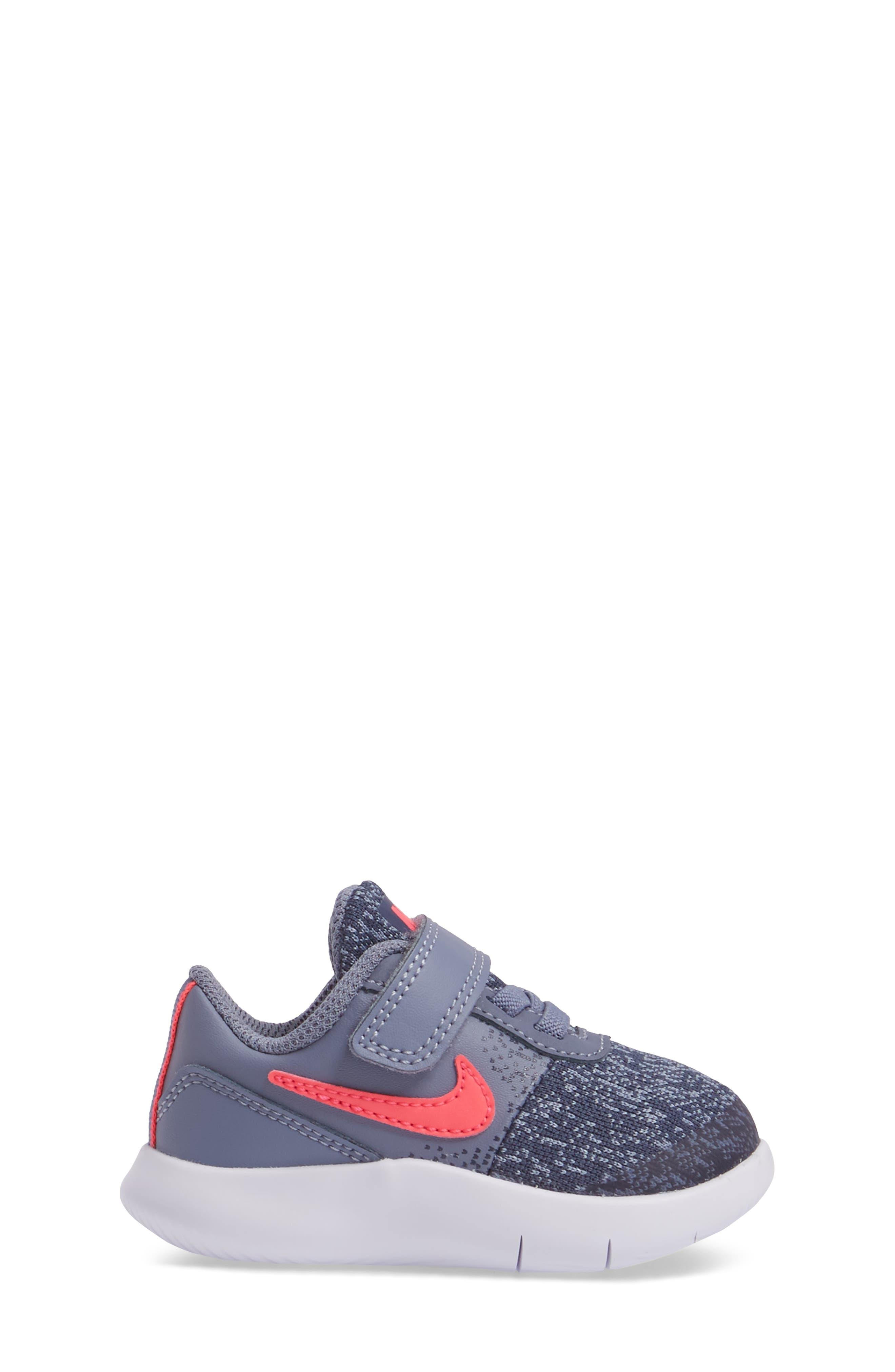 Flex Contact Sneaker,                             Alternate thumbnail 3, color,                             Racer Pink/ Thunder Blue