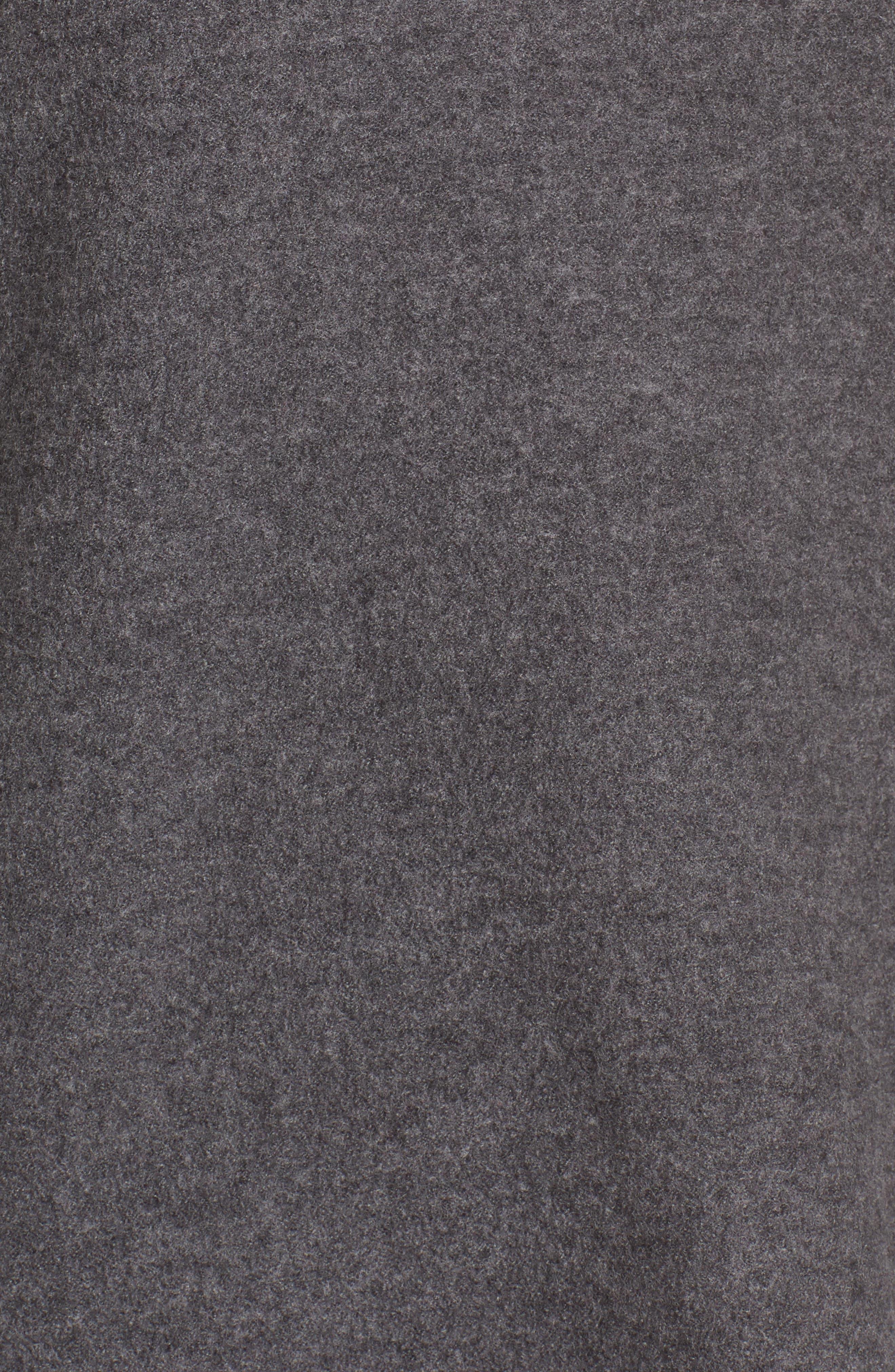 Alternate Image 5  - Eileen Fisher Boiled Merino Wool Top (Regular & Petite)