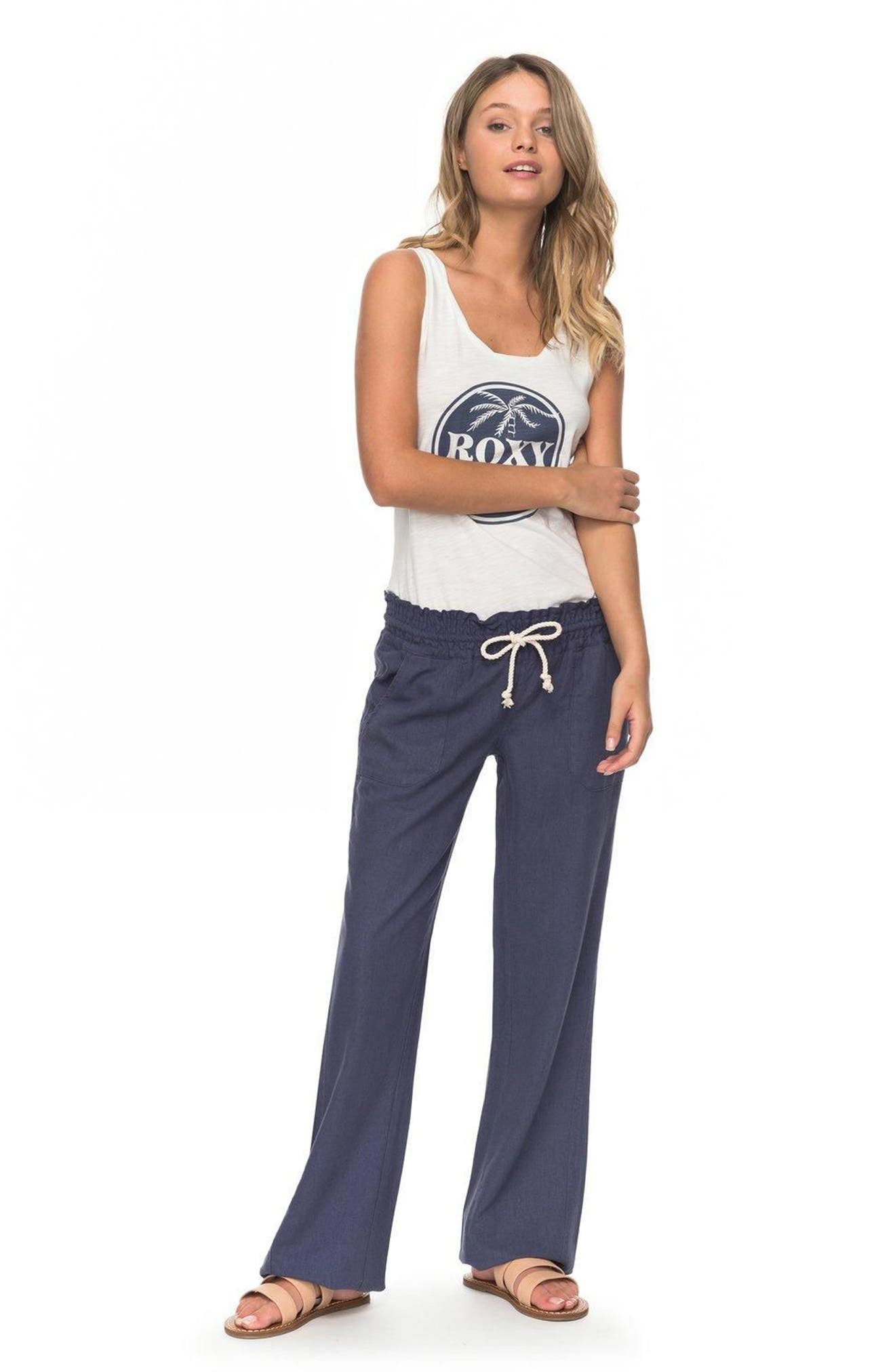 Alternate Image 2  - Roxy 'Oceanside' Beach Pants
