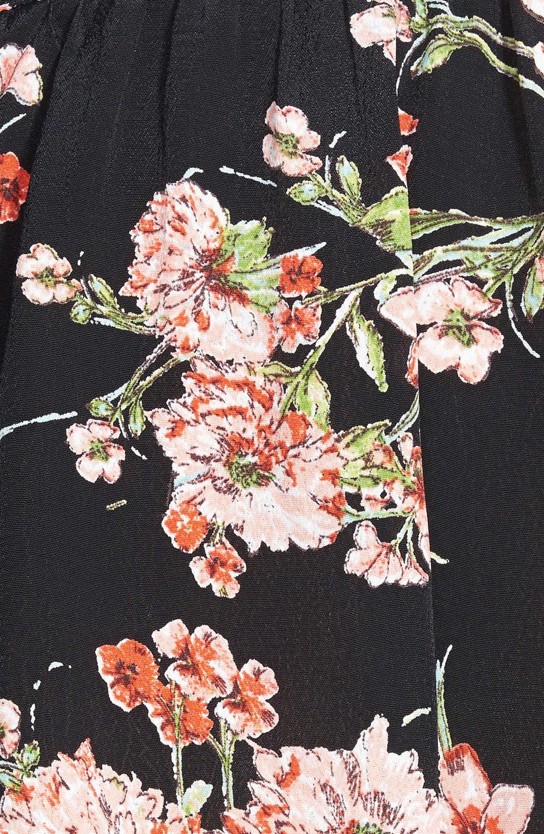 Alternate Image 3  - Band of Gypsies Floral Shorts