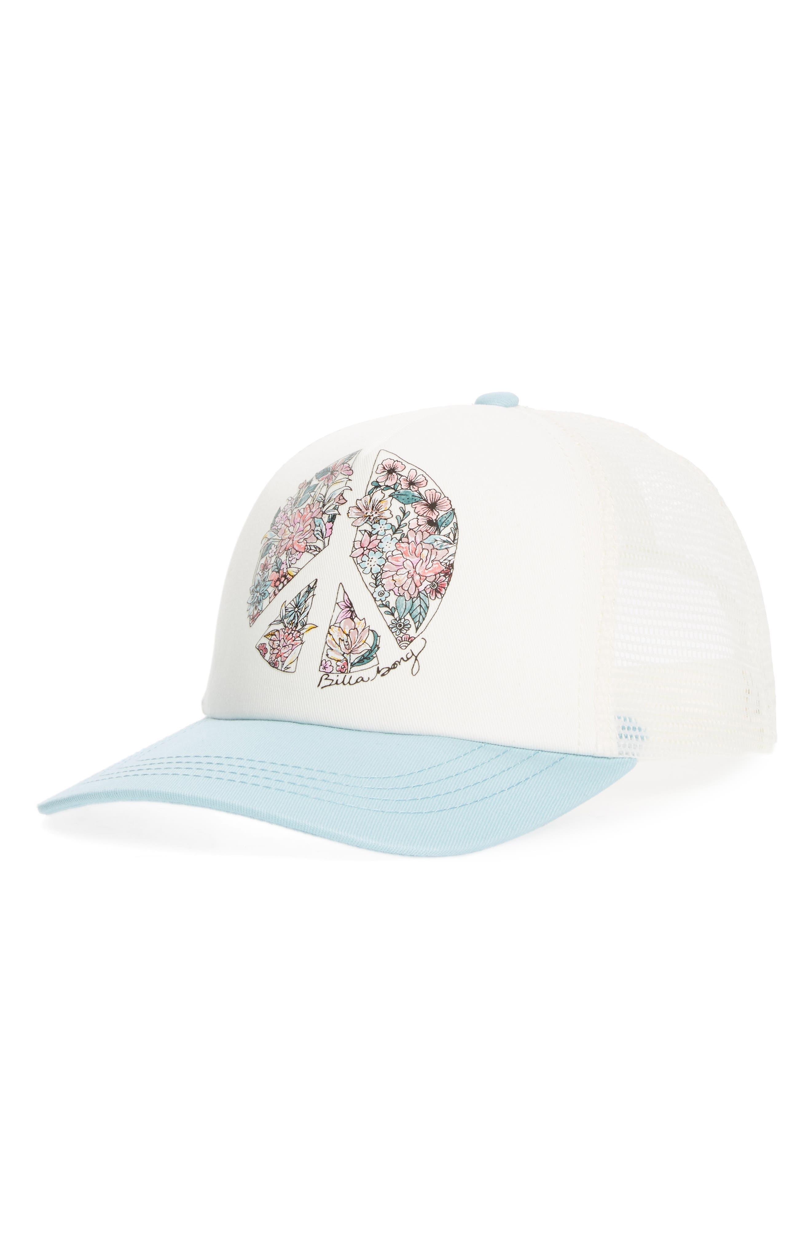 Billabong Sweet Dawn Trucker Hat (Big Girls)