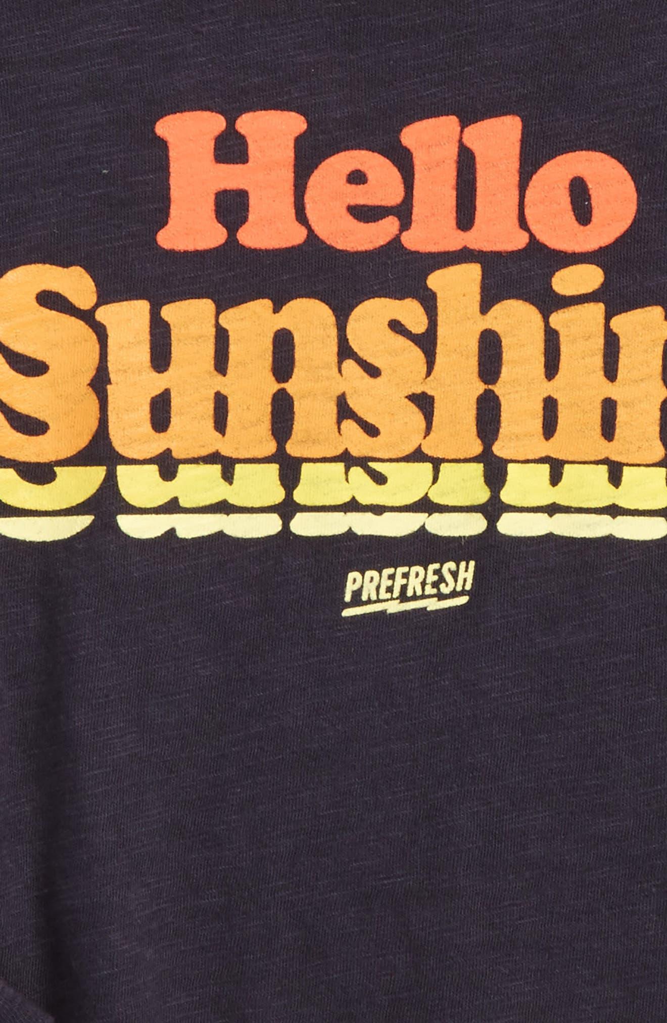 Alternate Image 2  - Prefresh Hello Sunshine Graphic T-Shirt (Baby Boys)