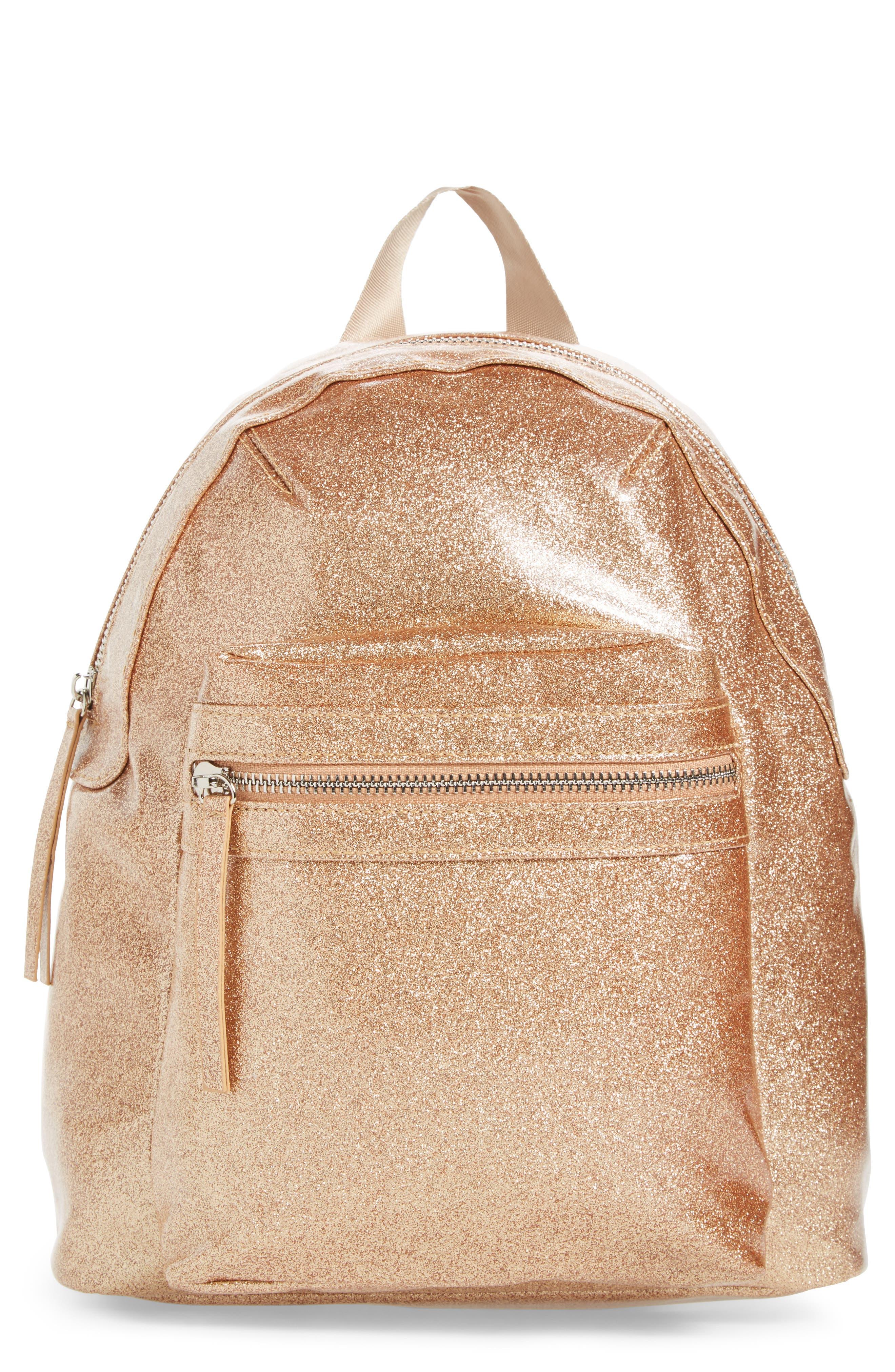 Hannah Banana Glitter Mini Backpack (Girls)