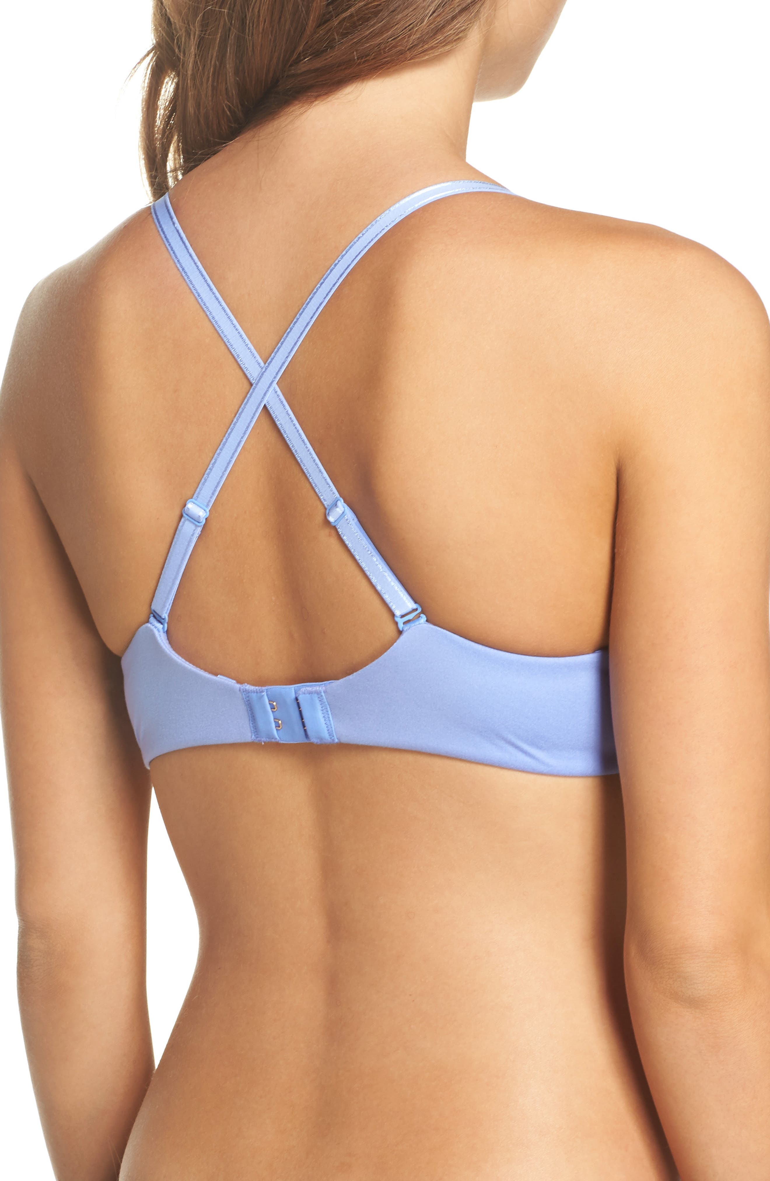 Alternate Image 3  - Betsey Johnson Forever Perfect Convertible Underwire Push-Up Bra