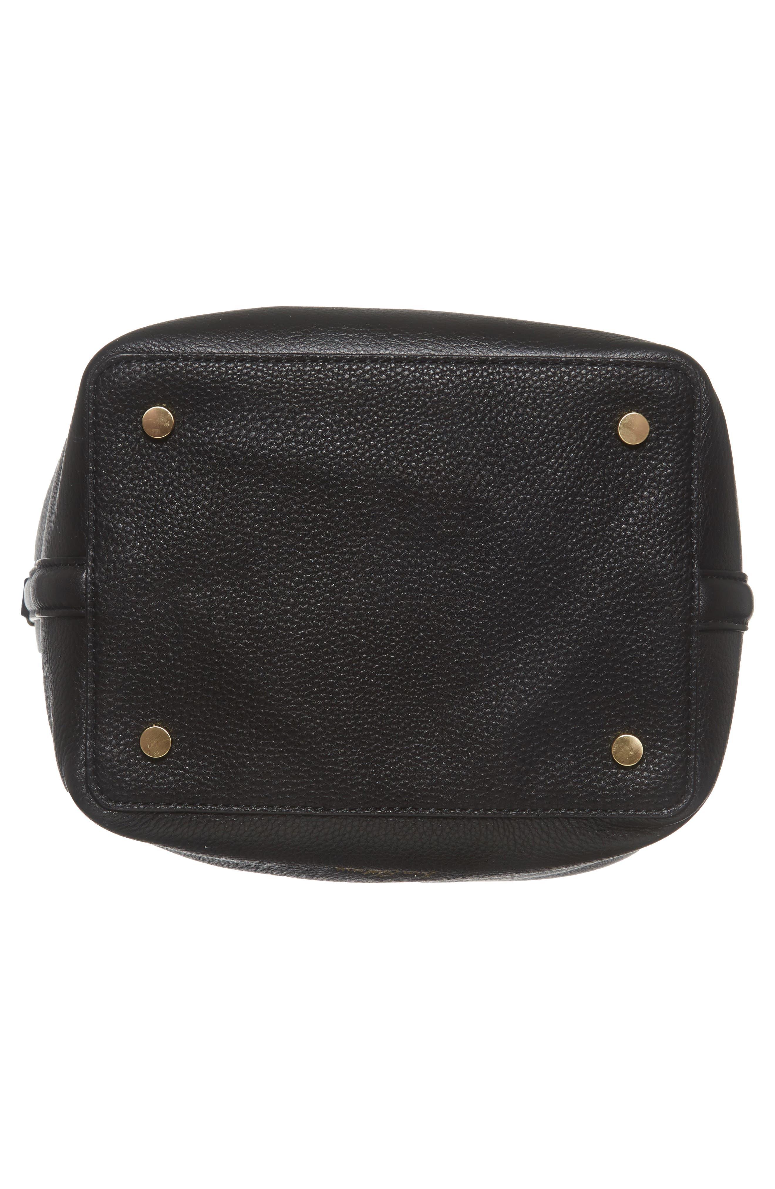 Alternate Image 5  - Sam Edelman Renee Leather Bucket Bag