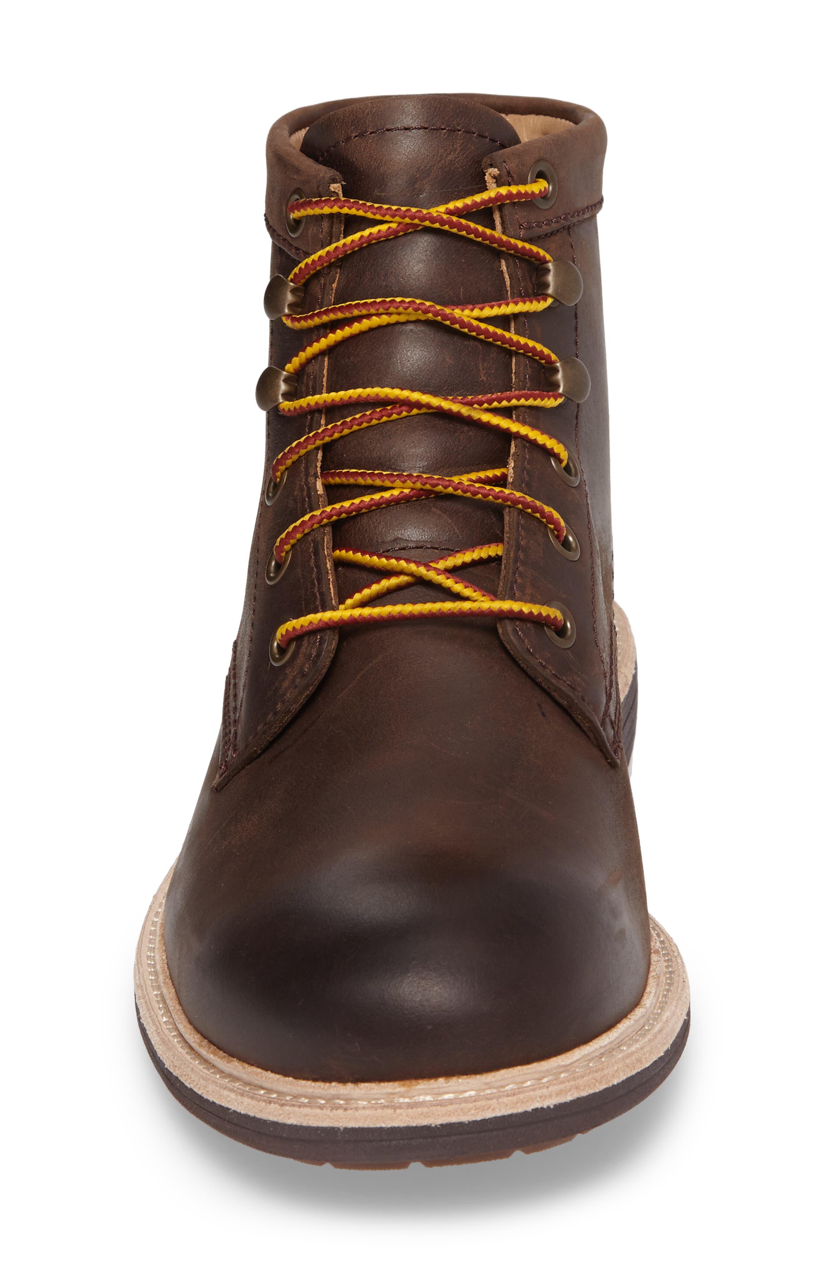 Vestmar Plain Toe Boot,                             Alternate thumbnail 4, color,                             Grizzly