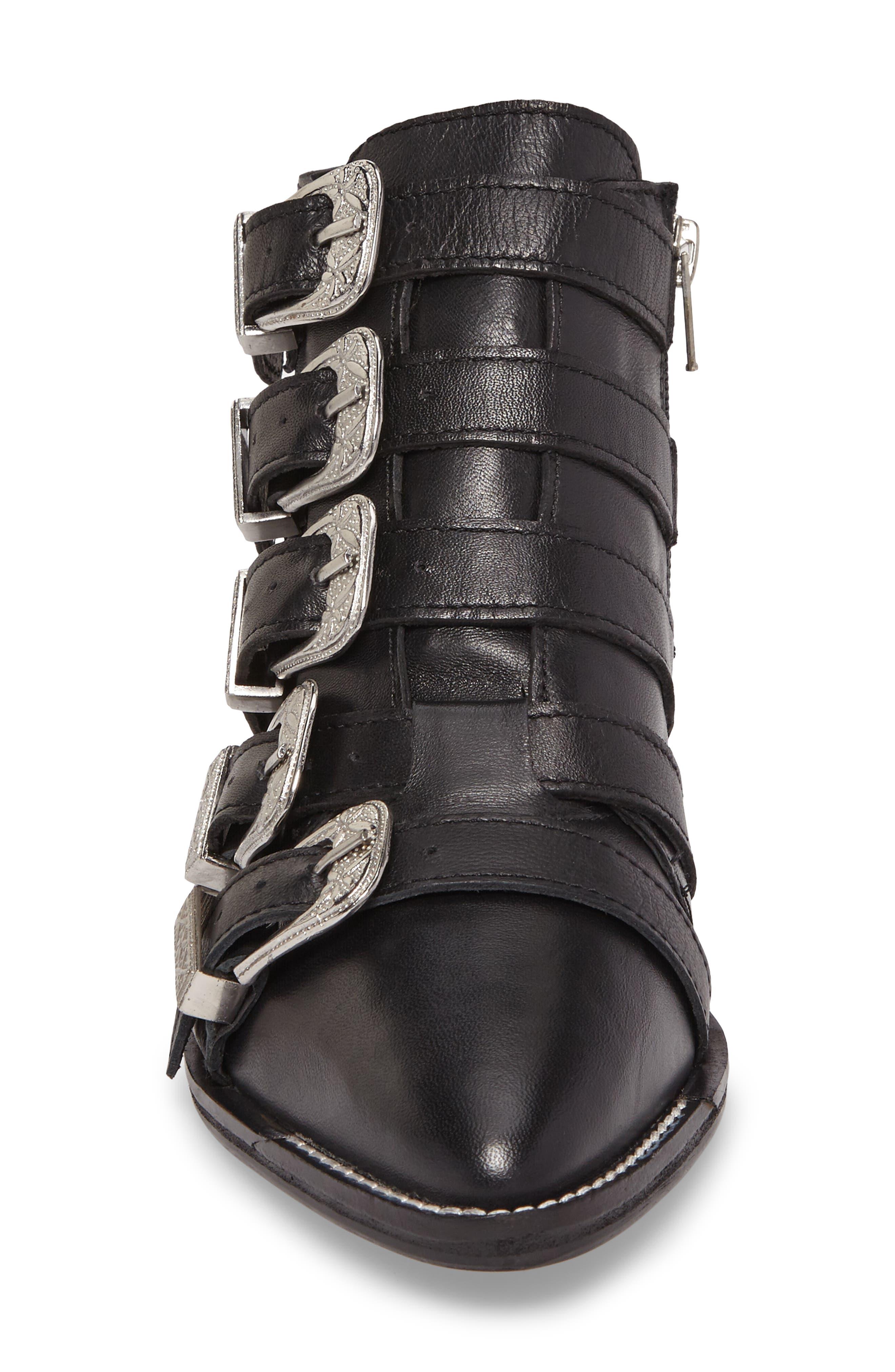 Alternate Image 4  - Topshop Andi Multi Buckle Boot (Women)