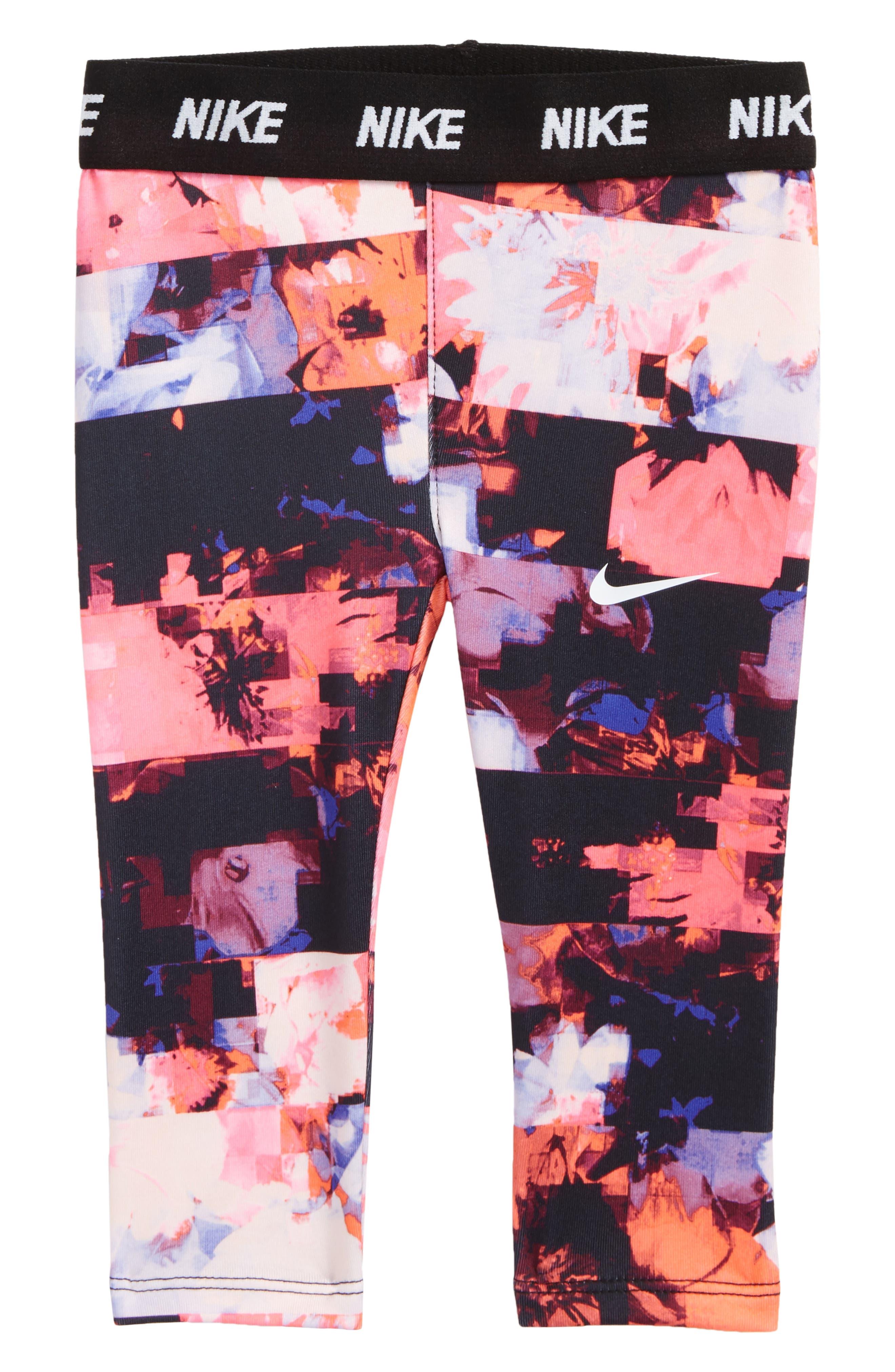 Nike Dri-FIT Print Leggings (Baby Girls)
