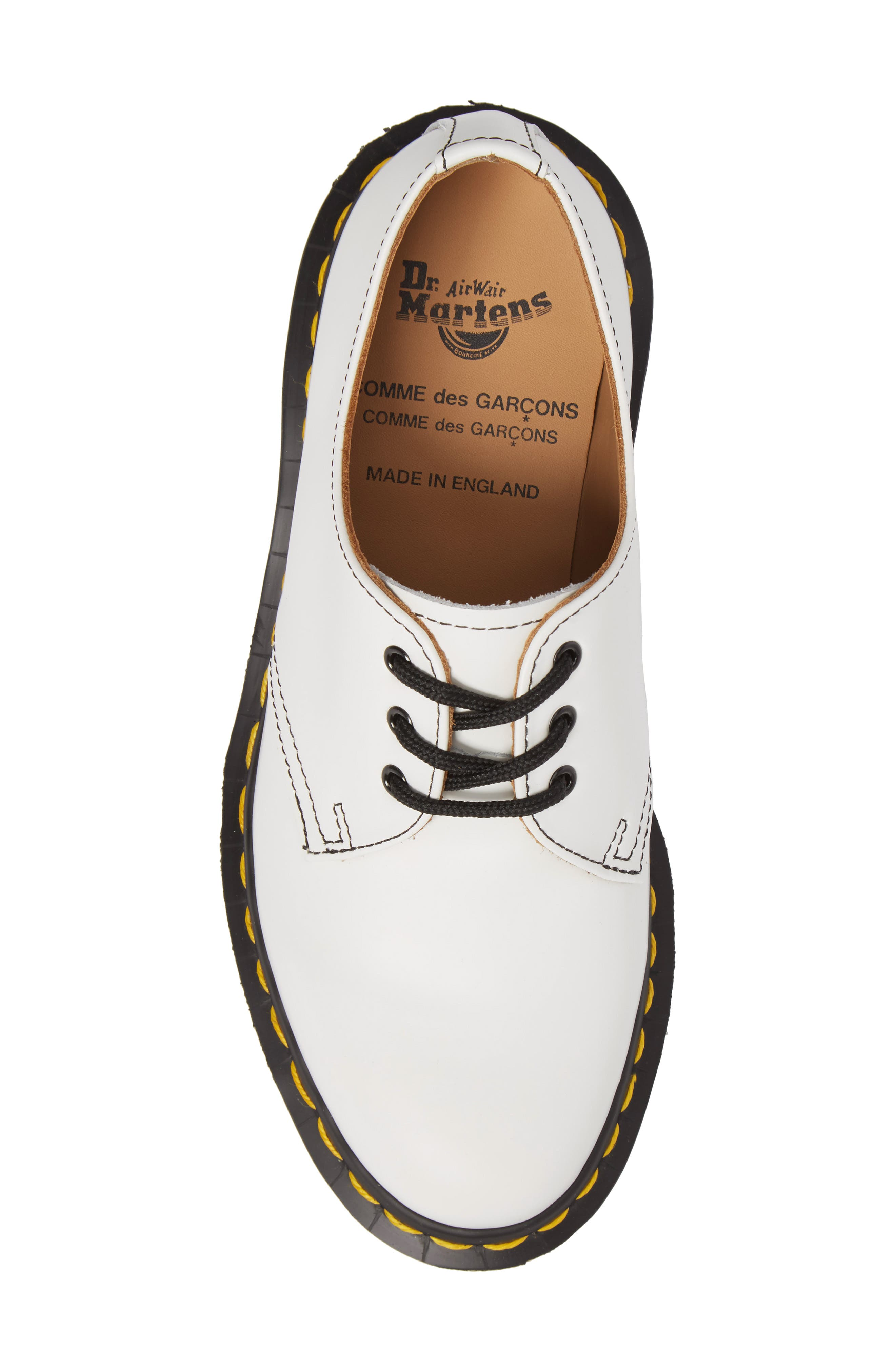 x Dr. Martens Pointy Toe Oxford,                             Alternate thumbnail 5, color,                             White