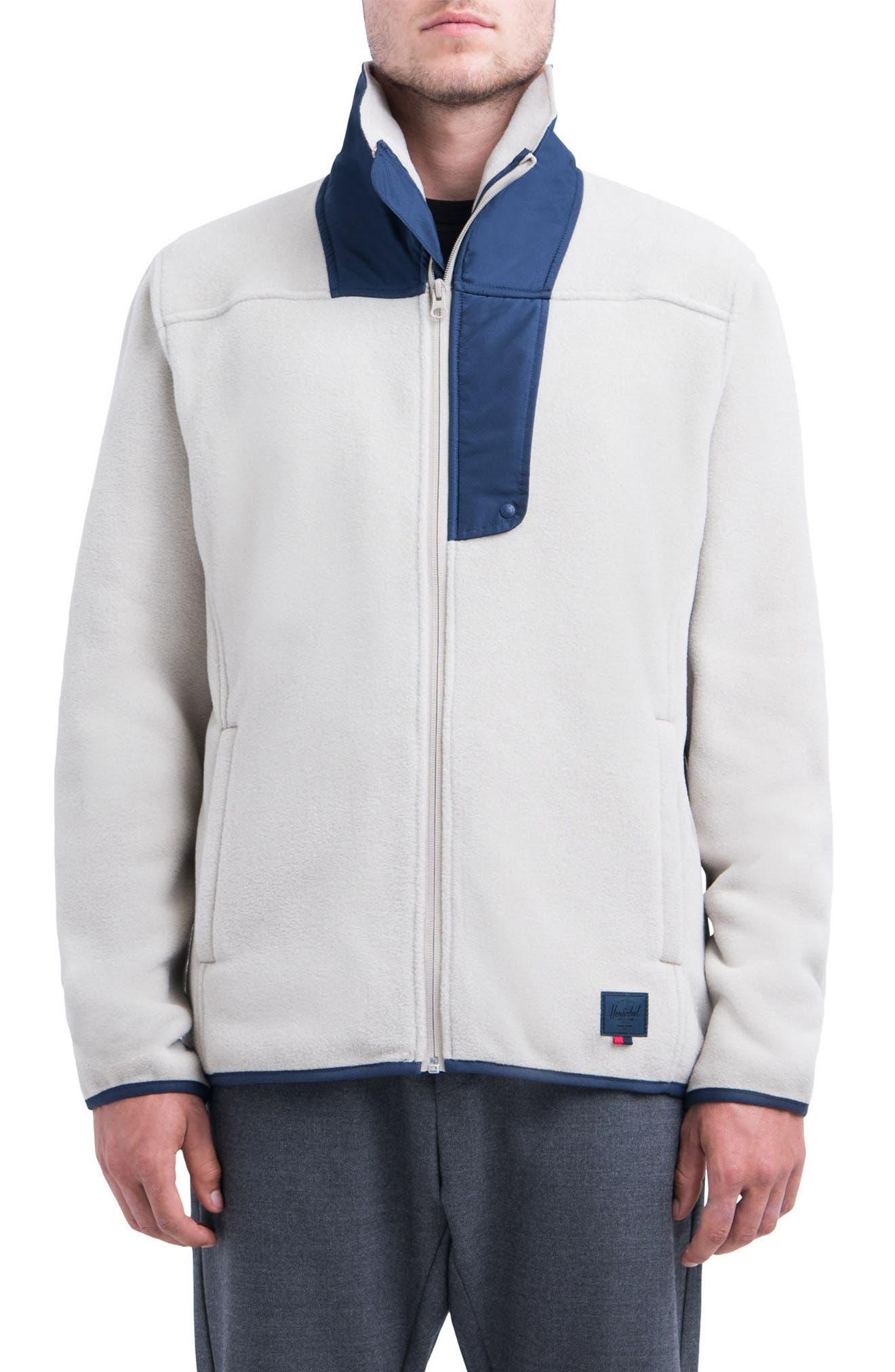Herschel Supply Co. Fleece Zip-Up